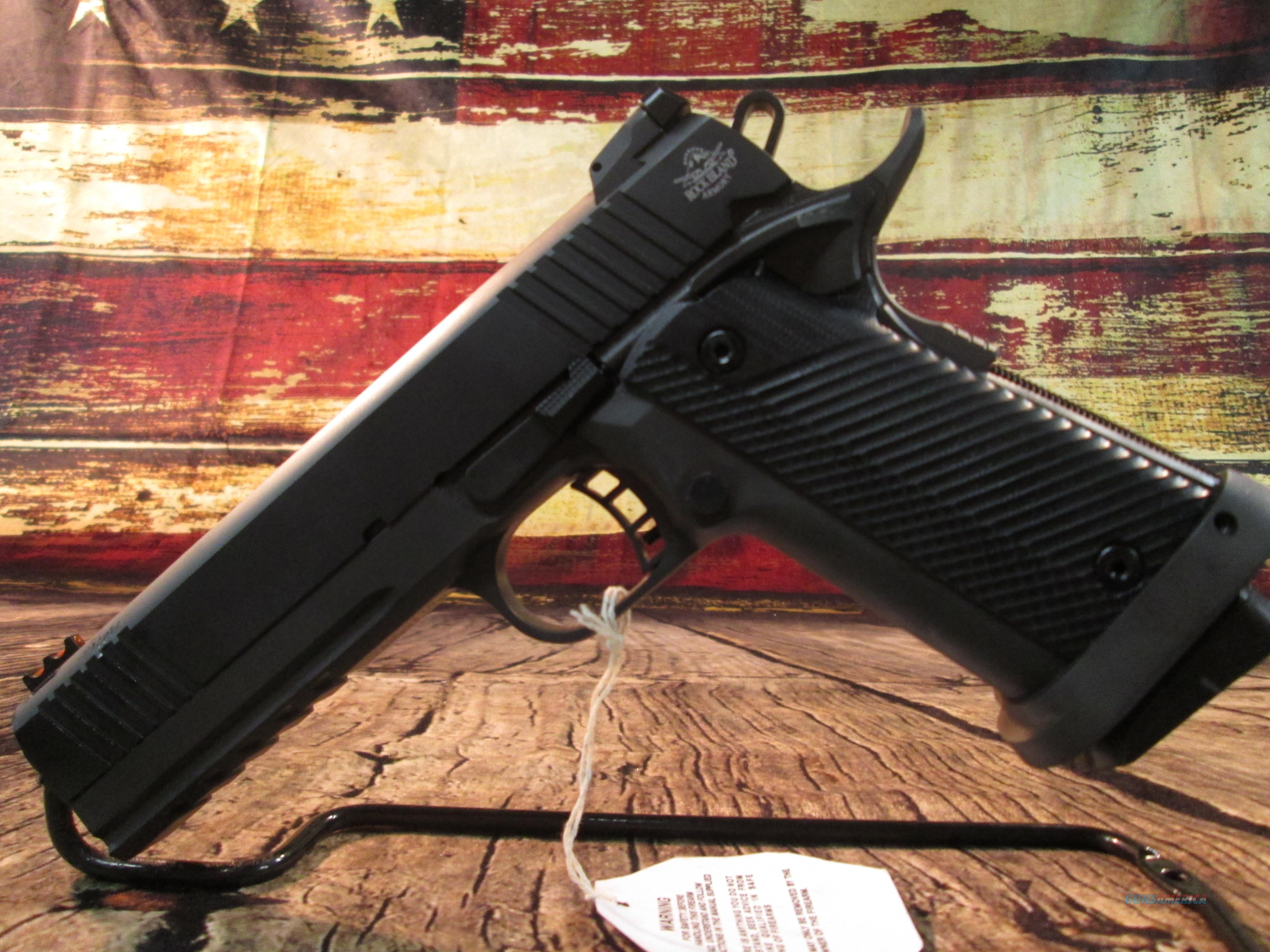 ROCK ISLAND TAC ULTRA 9MM NEW (51679)  Guns > Pistols > Armscor Pistols > Rock Island