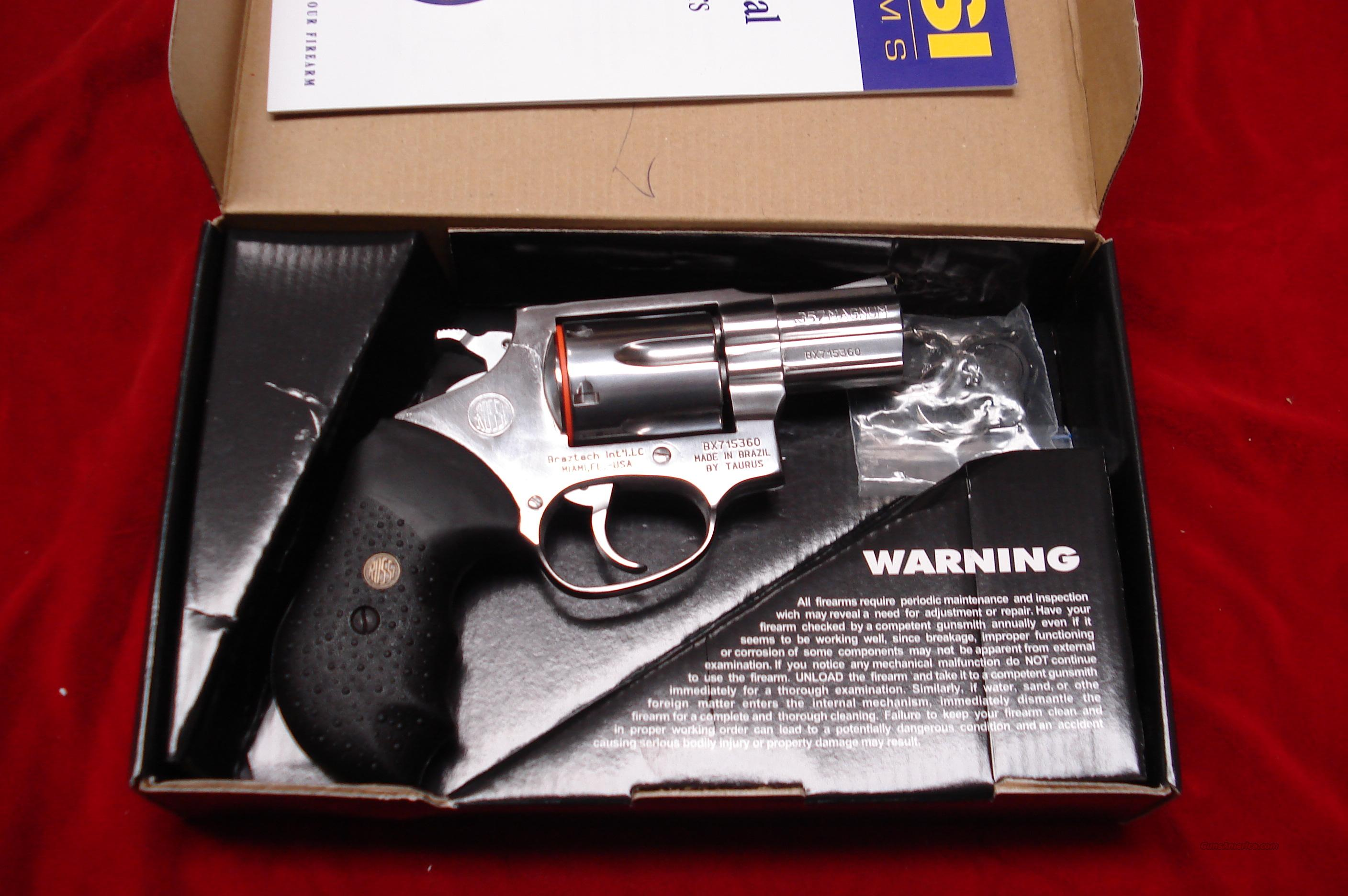 "ROSSI 462 357MAG 2"" STAINLESS NEW   Guns > Pistols > Rossi Revolvers"