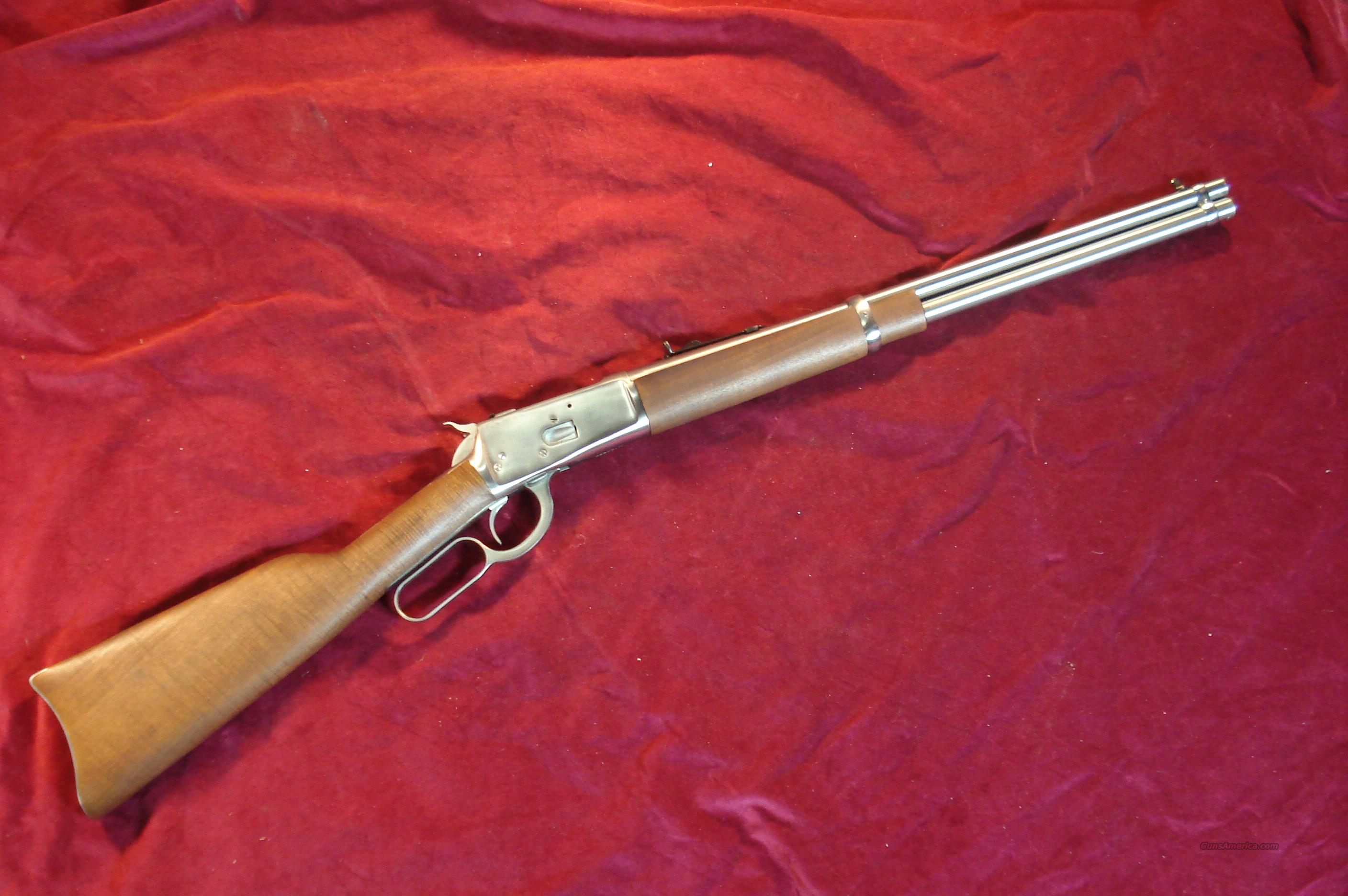 "ROSSI 20"" STAINLESS 92 LEVER ACTION 44MAG NEW  Guns > Rifles > Rossi Rifles > Cowboy"