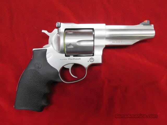 "RUGER NEW MODEL REDHAWK 45 LONG COLT 4"" STAINLESS NEW  Guns > Pistols > Ruger Double Action Revolver > Redhawk Type"