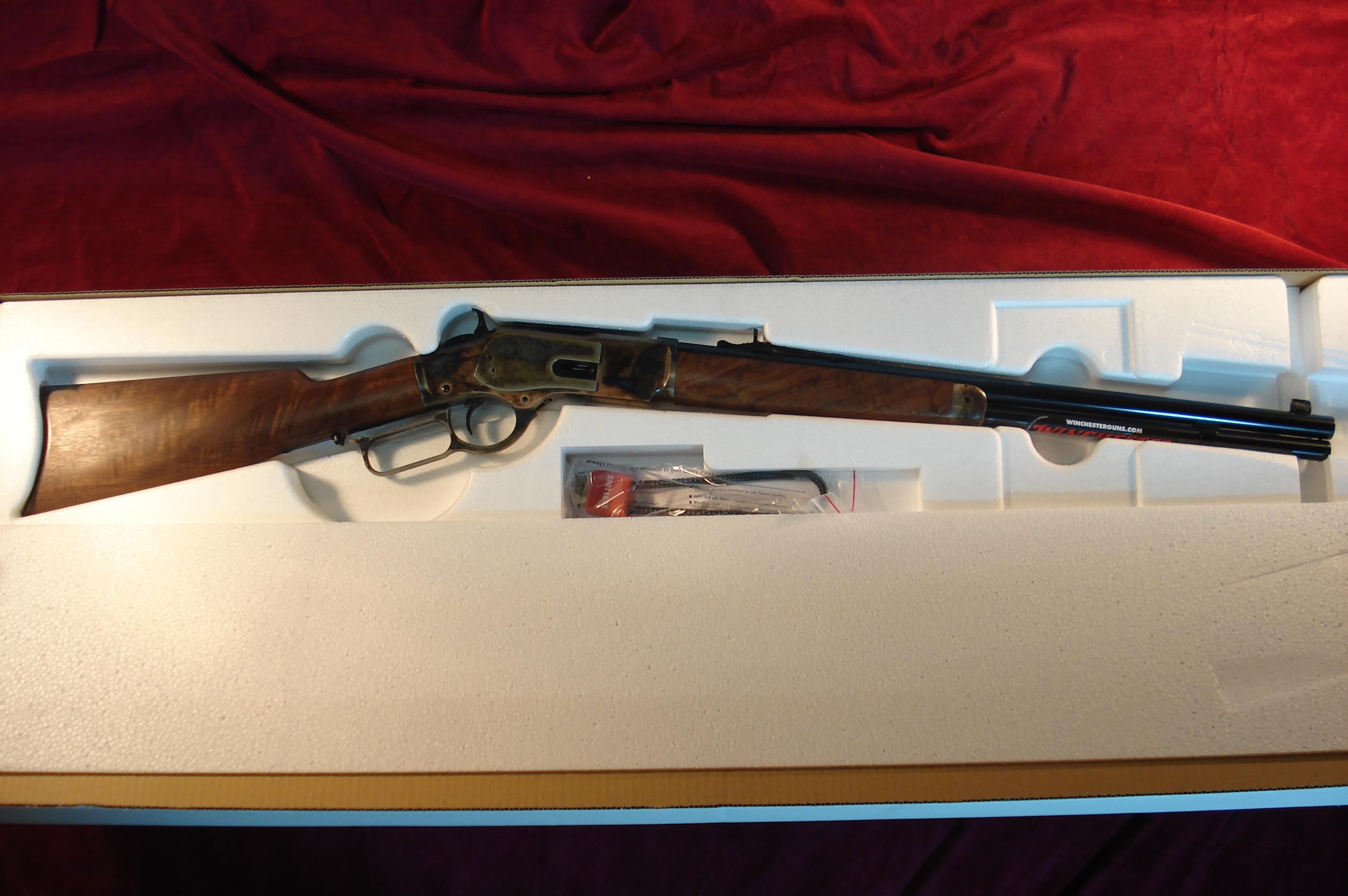 WINCHESTER MODEL 1873 SHORT RIFLE .357MAG. CASE HARDENED STEEL NEW  Guns > Rifles > Winchester Rifles - Modern Lever > Other Lever > Post-64