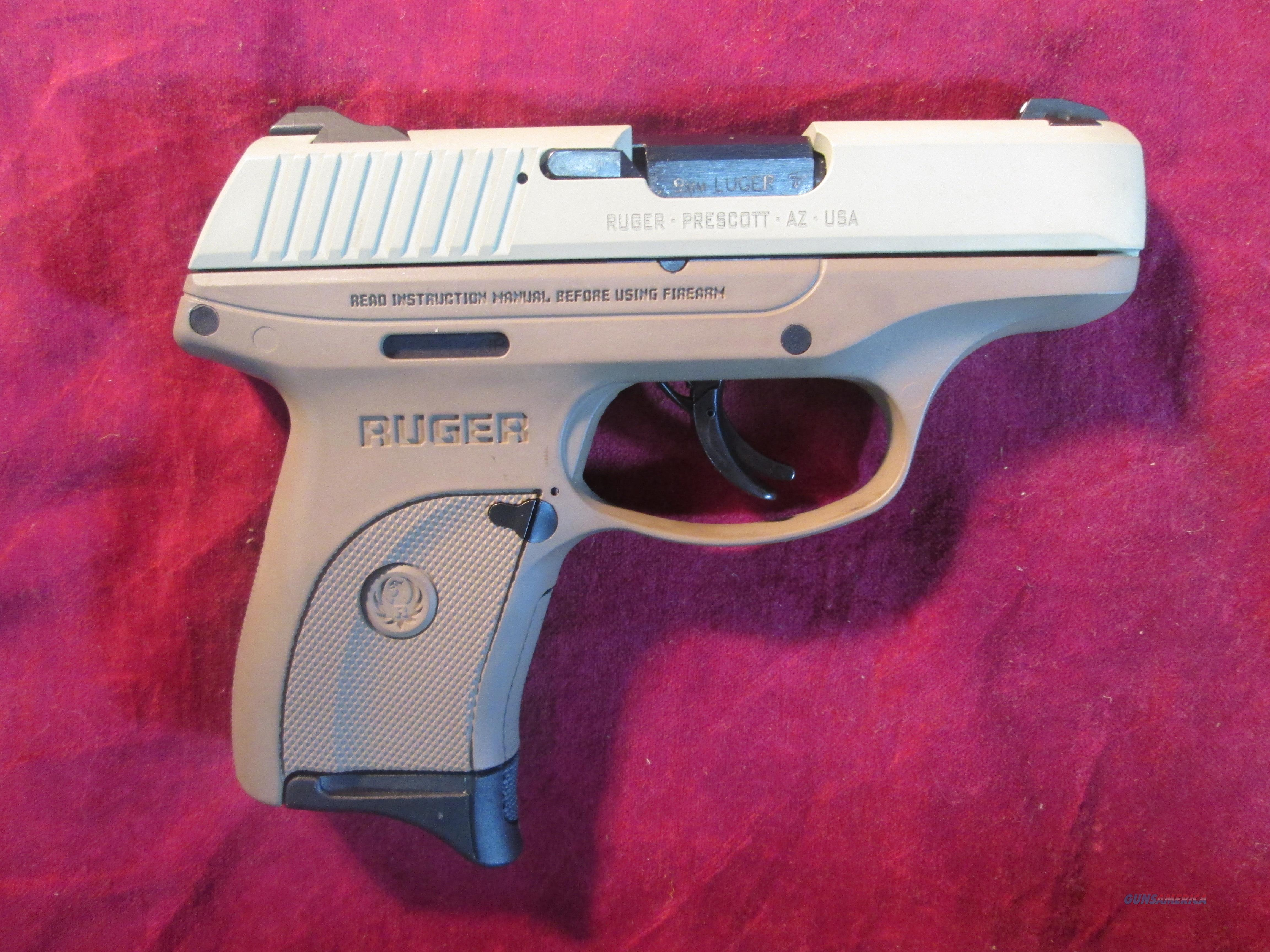 RUGER LC9S FULL FLAT DARK EARTH 9MM TALO EDITION NEW (03258)  Guns > Pistols > Ruger Semi-Auto Pistols > LC9