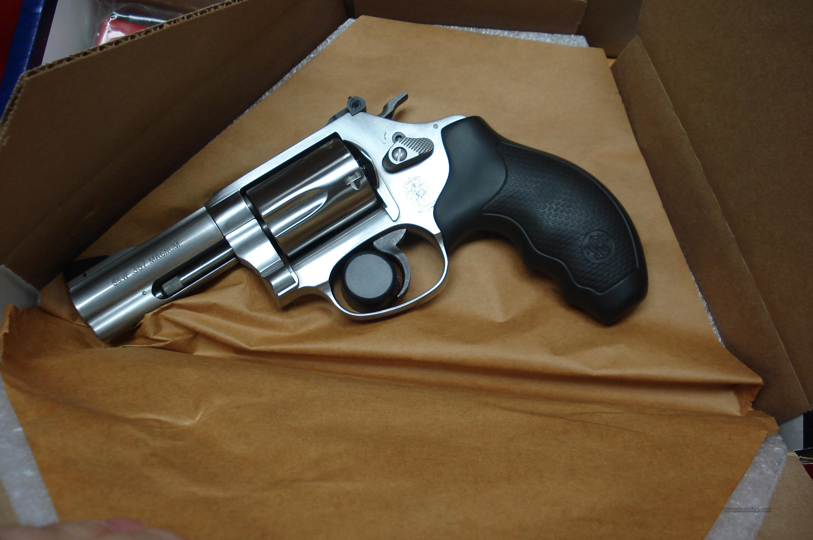 "SMITH AND WESSON MODEL MODEL 60 3"" BARREL 357MAG STAINLESS NEW  (162430)   Guns > Pistols > Smith & Wesson Revolvers > Pocket Pistols"