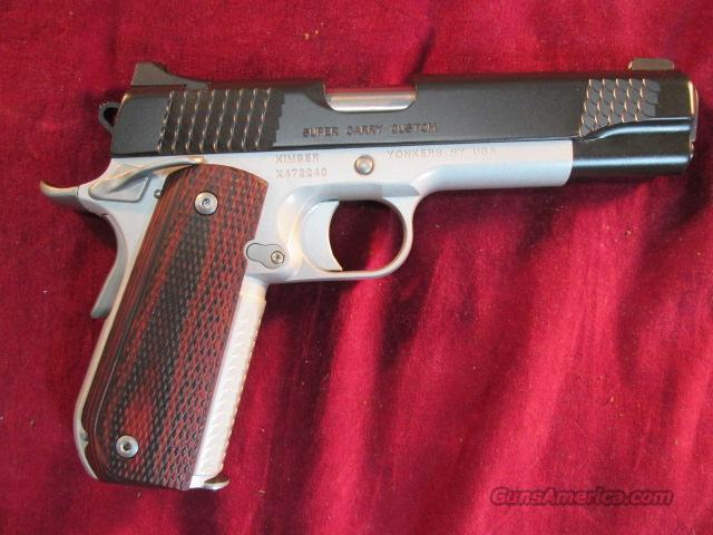 KIMBER SUPER CARRY CUSTOM 45ACP NEW  Guns > Pistols > Kimber of America Pistols