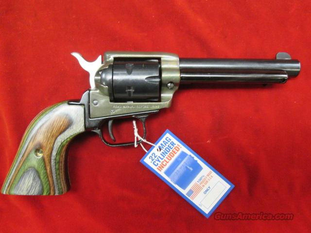 "HERITAGE ARMS ROUGH RIDER CASE HARDENED 4.75"" 22LR/ 22 MAG NEW   Guns > Pistols > H Misc Pistols"