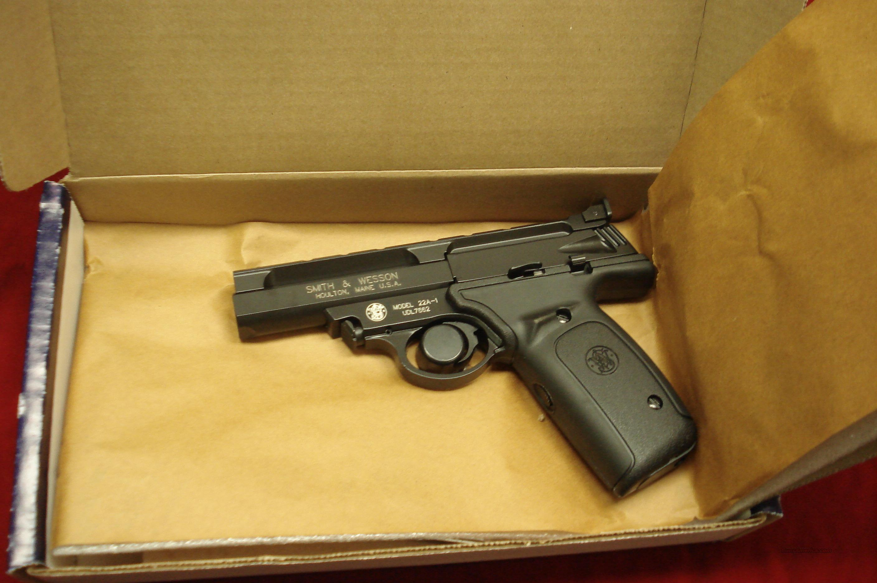 SMITH AND WESSON 22A 22LR. NEW  Guns > Pistols > Smith & Wesson Pistols - Autos > .22 Autos