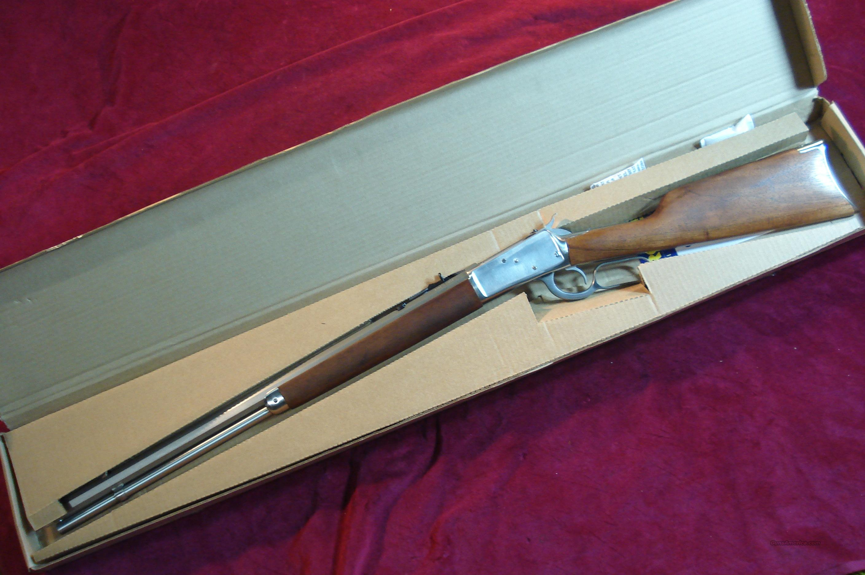 "ROSSI 92 LEVER ACTION 44MAGNUM CAL. 24"" OCTAGON BARREL STAINLESS NEW  Guns > Rifles > Rossi Rifles > Cowboy"