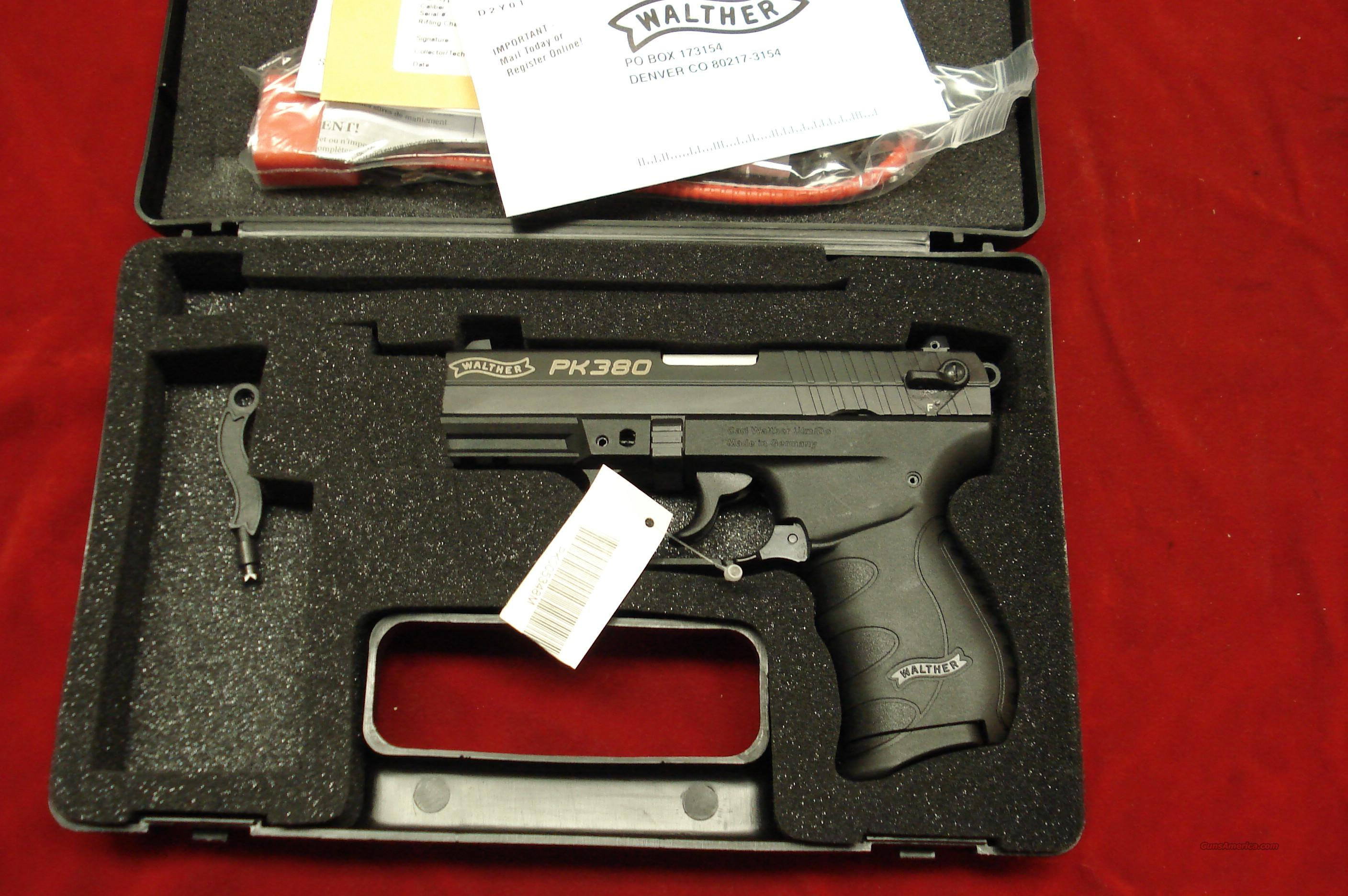 WALTHER PK380 NEW  Guns > Pistols > Walther Pistols > Post WWII > PP Series