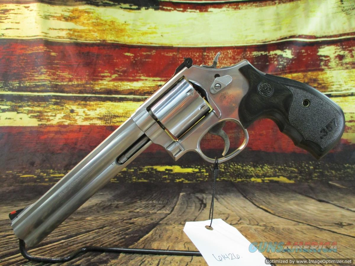 """Smith & Wesson 357 Mag Model 686 Plus Deluxe Stainless 7"""" (150855)  Guns > Pistols > Smith & Wesson Revolvers > Med. Frame ( K/L )"""