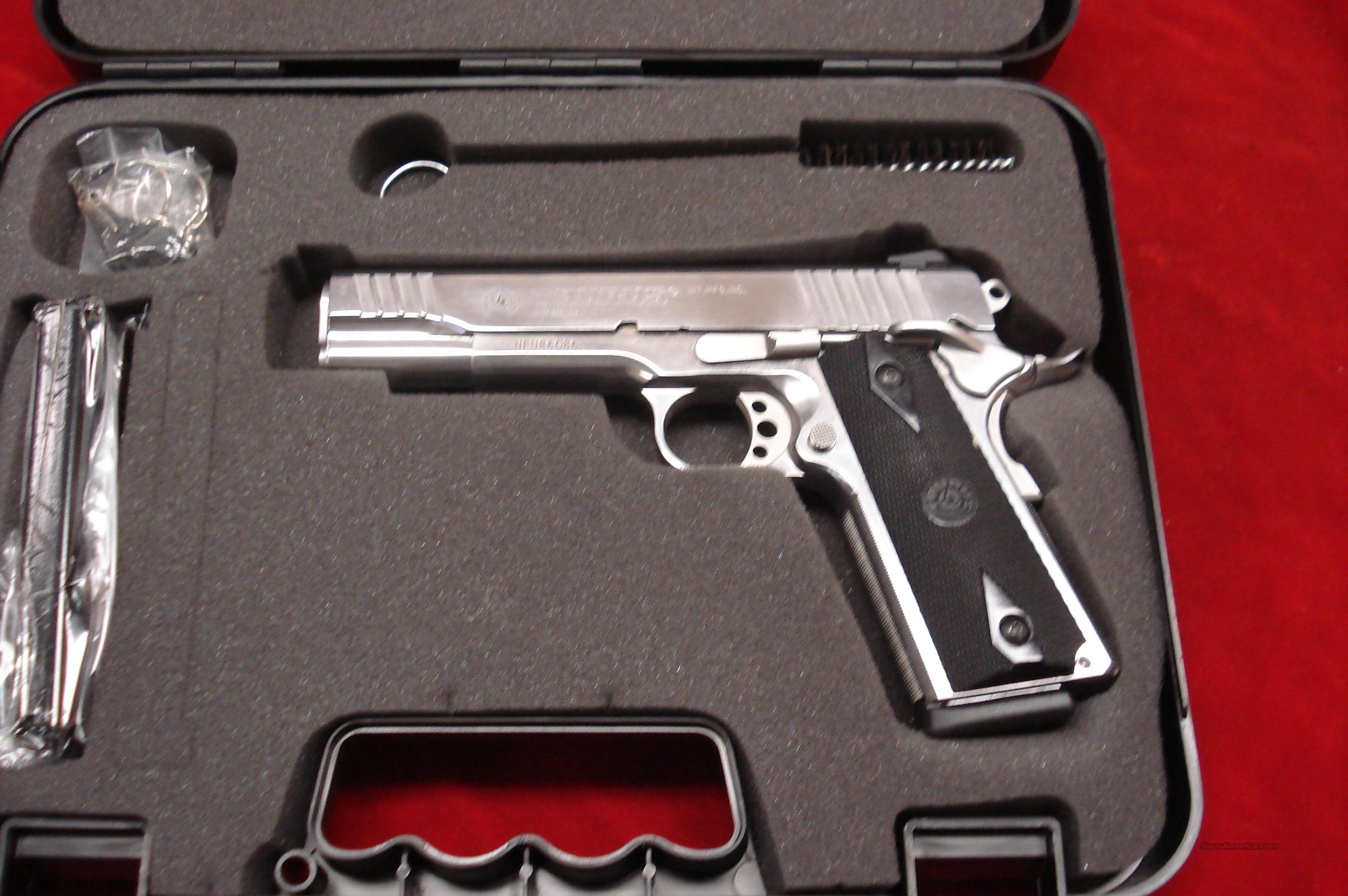 TAURUS POLISHED STAINLESS 1911 45 ACP NEW  Guns > Pistols > Taurus Pistols/Revolvers > Pistols > Steel Frame