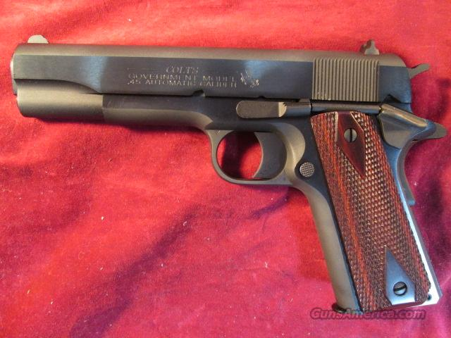 "COLT GOVERNMENT MODEL BLUE 45ACP ""100 YEARS OF SERVICE"" NEW  Guns > Pistols > Colt Automatic Pistols (1911 & Var)"