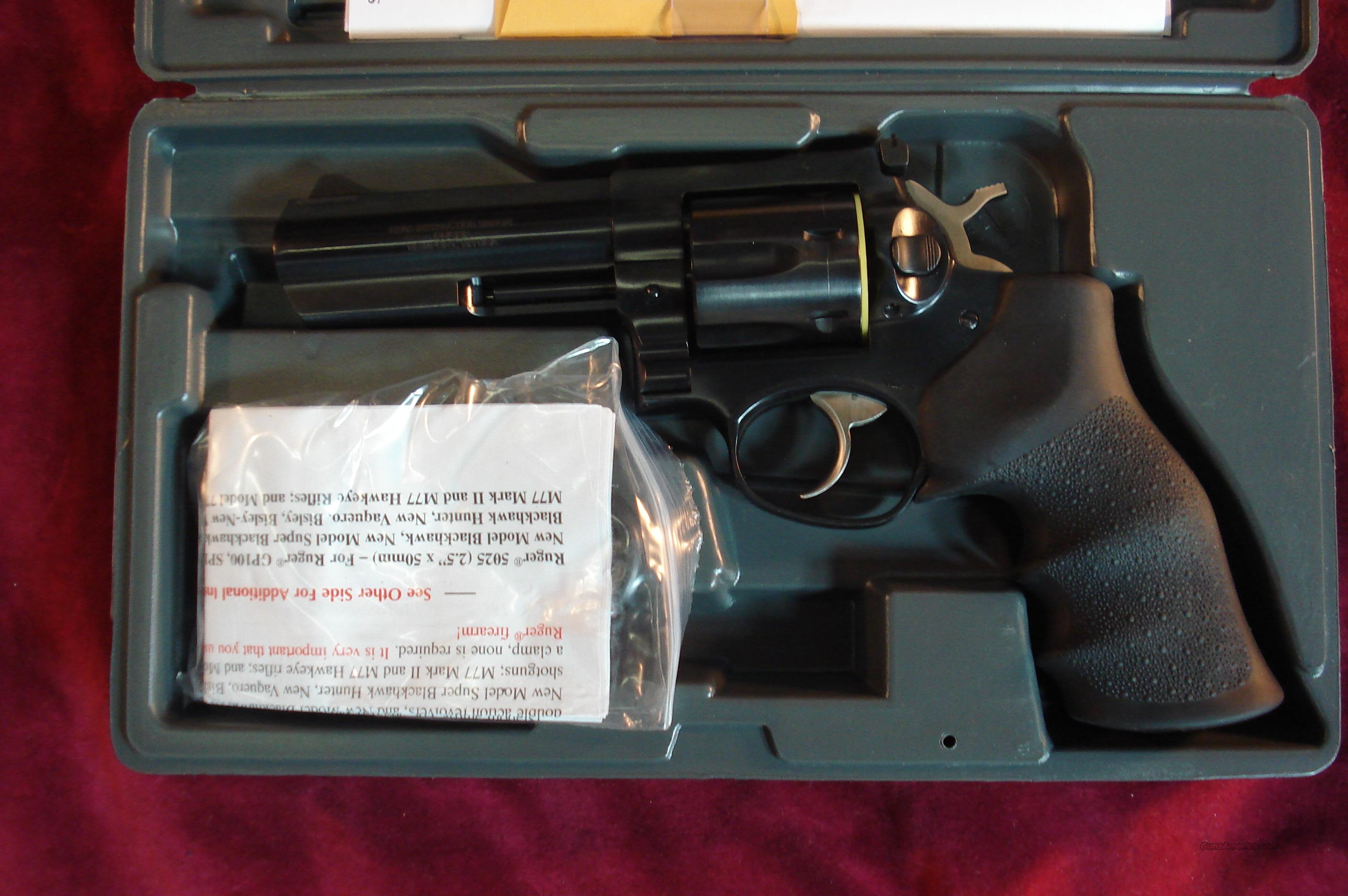"RUGER GP141 357 MAG REVOLVER 4"" BLUE NEW  Guns > Pistols > Ruger Double Action Revolver > Security Six Type"