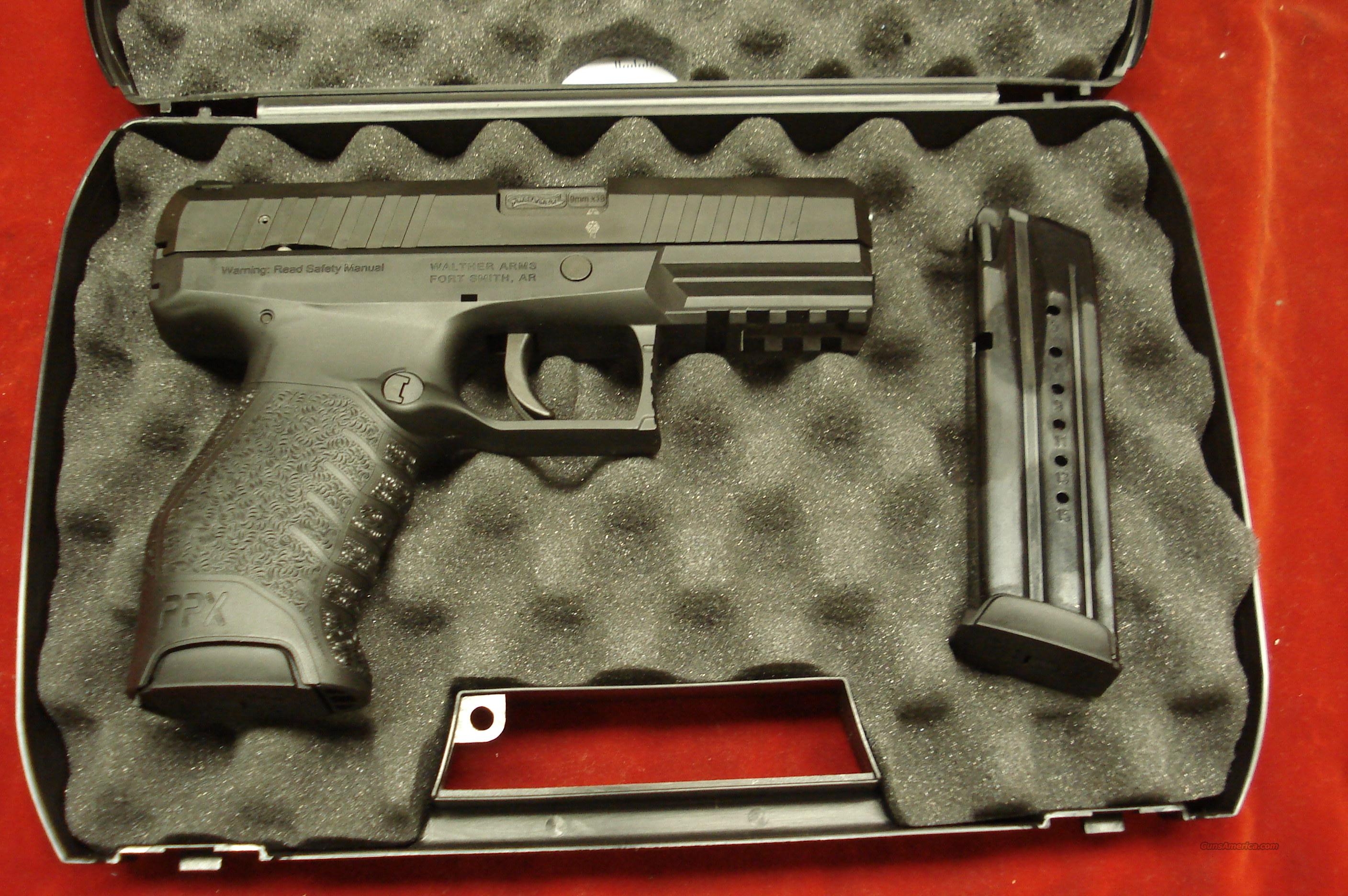 WALTHER PPX M1 9MM HIGH CAPACITY NEW  Guns > Pistols > Walther Pistols > Post WWII > P99/PPQ