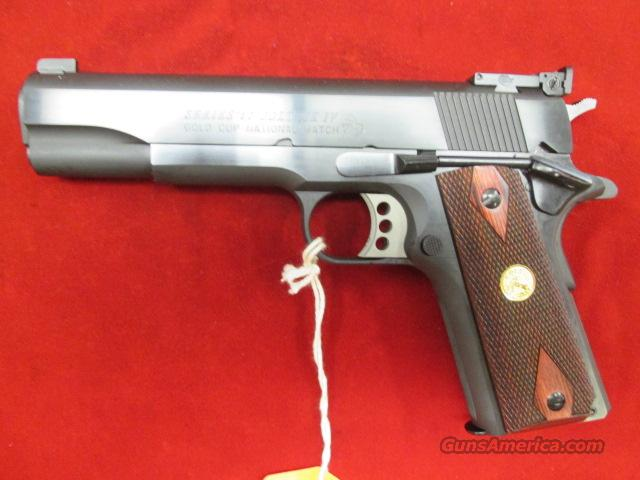 COLT BLUE GOLD CUP NATIONAL MATCH 45ACP NEW  Guns > Pistols > Colt Automatic Pistols (1911 & Var)