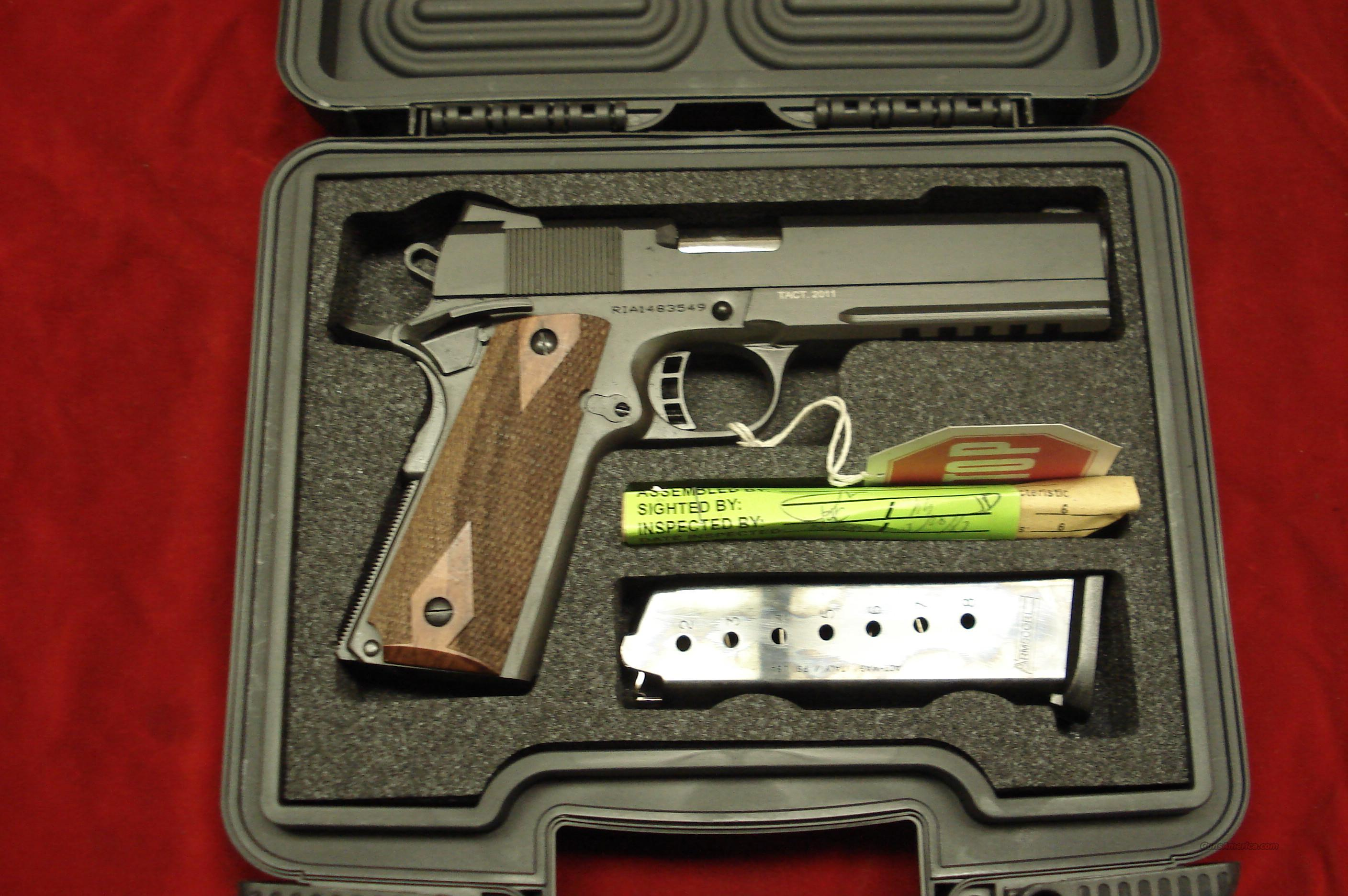 ROCK ISLAND ARMORY 1911-A1 FS TACTICAL WITH FULL LENGTH TAC RAIL NEW  Guns > Pistols > 1911 Pistol Copies (non-Colt)