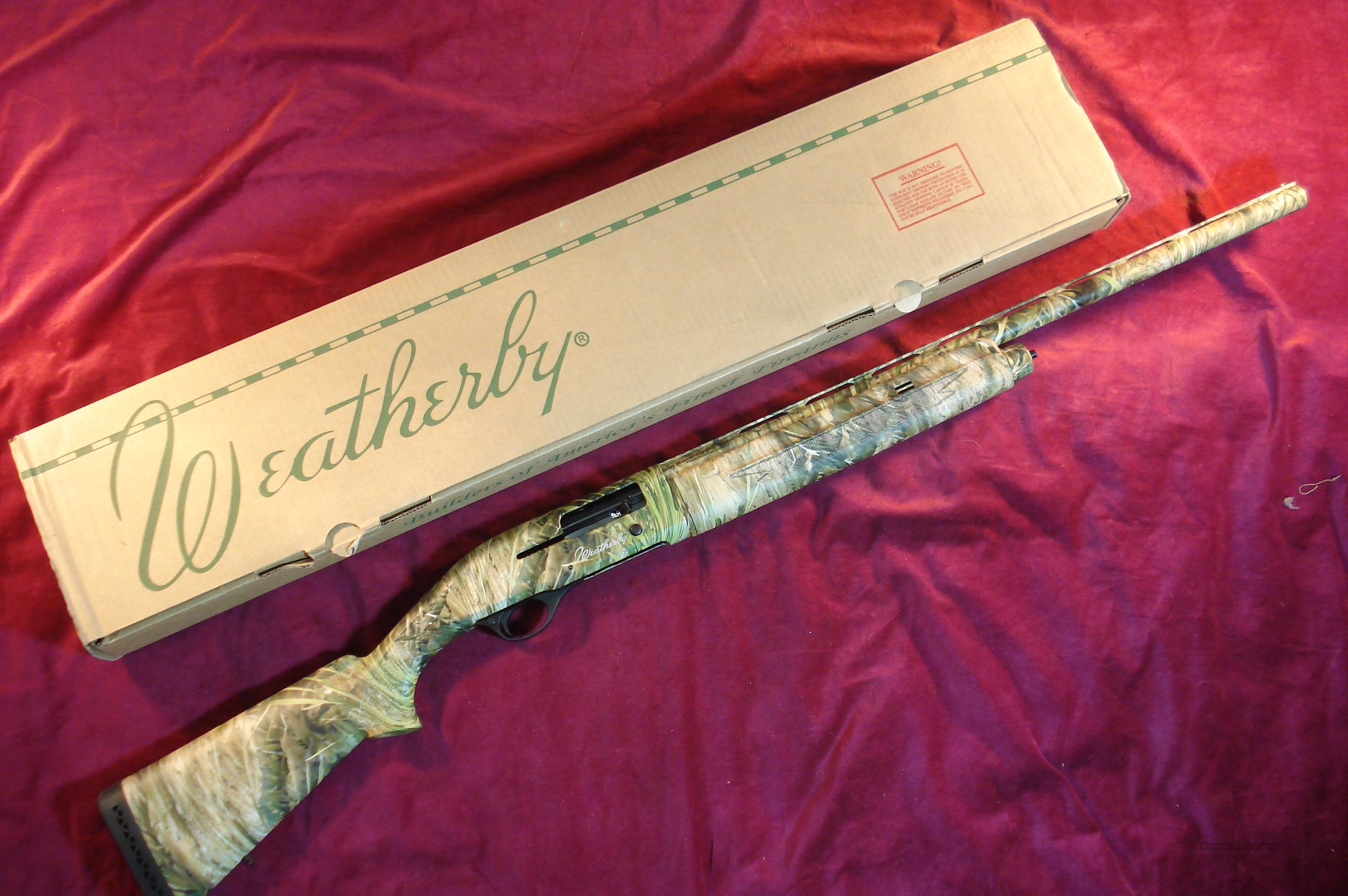 "WEATHERBY SA-08 SEMI AUTO 12GA 26"" MARSH CAMO NEW  Guns > Shotguns > Weatherby Shotguns > Hunting > Autoloader"