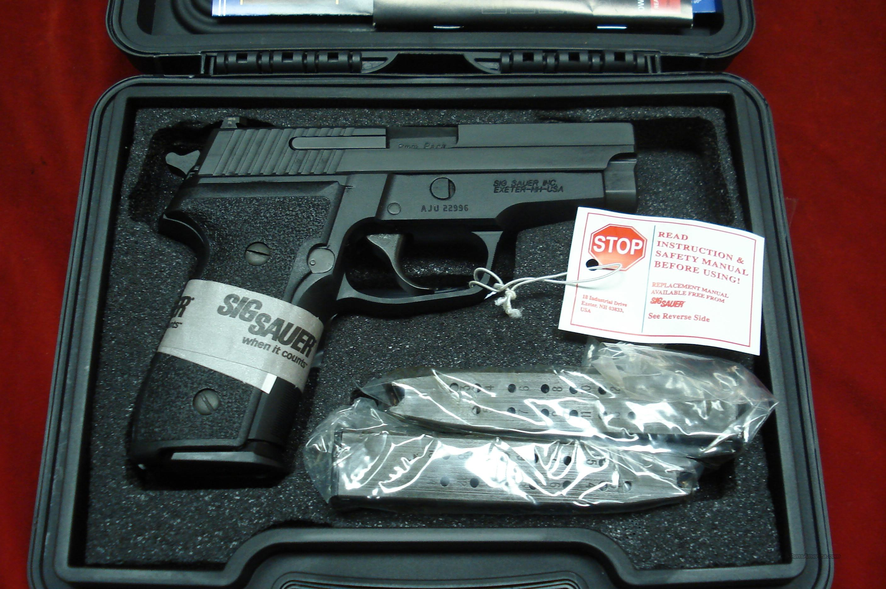 SIG SAUER M11-A1 P228 9MM WITH NIGHT SIGHTS AND HIGH CAP MAGAZINES NEW  Guns > Pistols > Sig - Sauer/Sigarms Pistols > P228