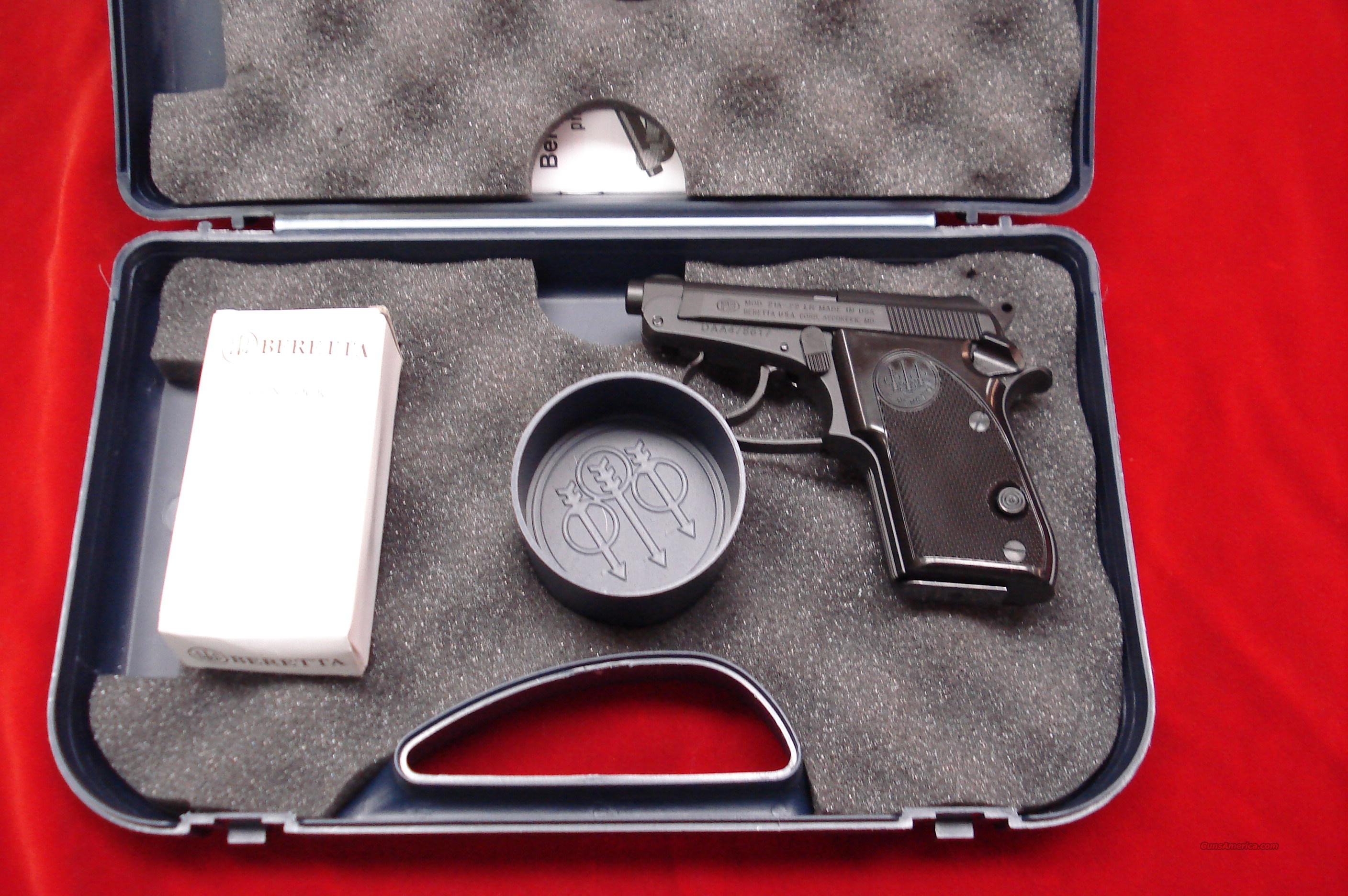 BERETTA 21A BOBCAT 22LR NEW  Guns > Pistols > Beretta Pistols > Small Caliber Tip Out