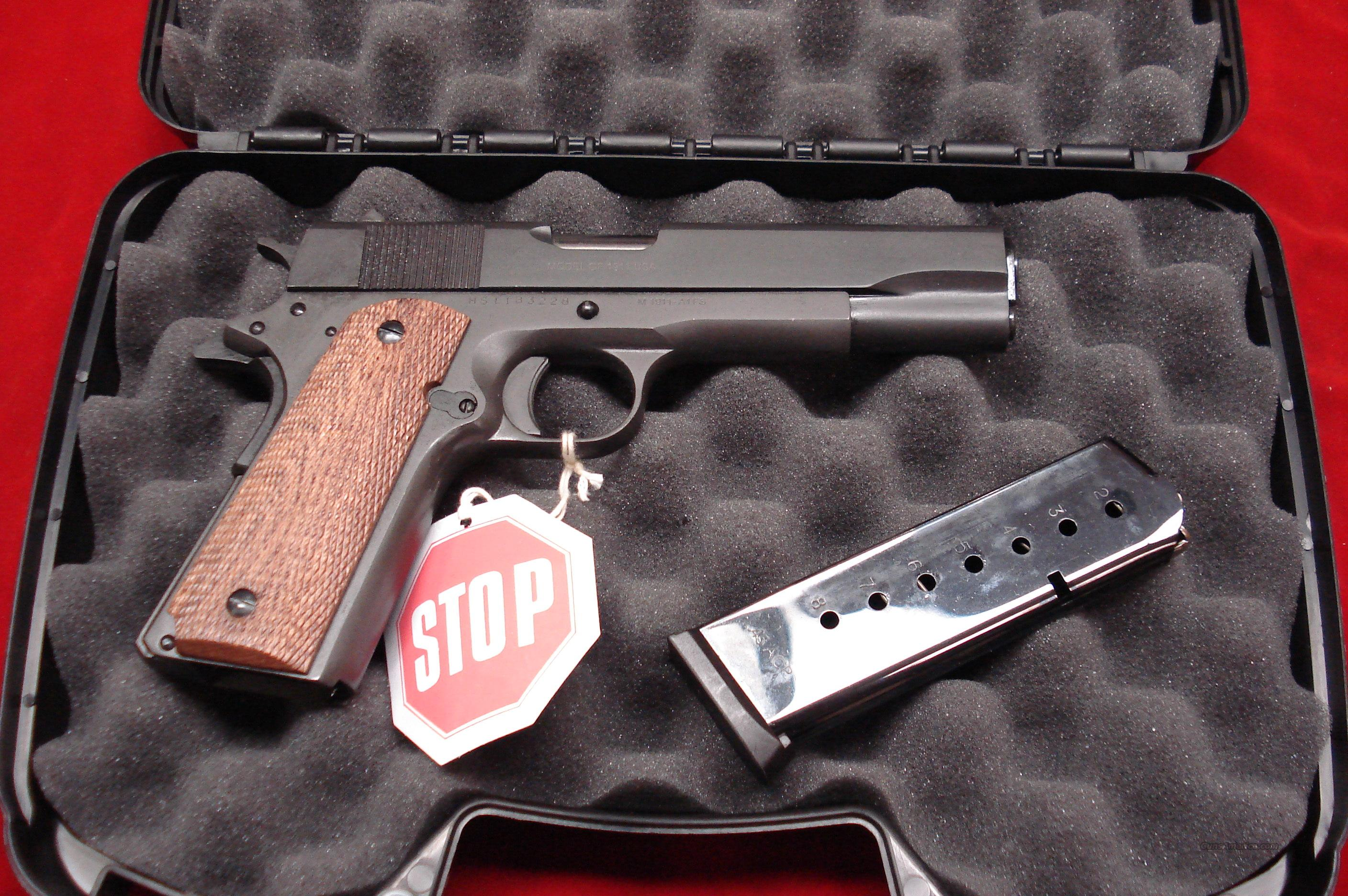 HIGH STANDARD GI1911 45ACP NEW  Guns > Pistols > 1911 Pistol Copies (non-Colt)