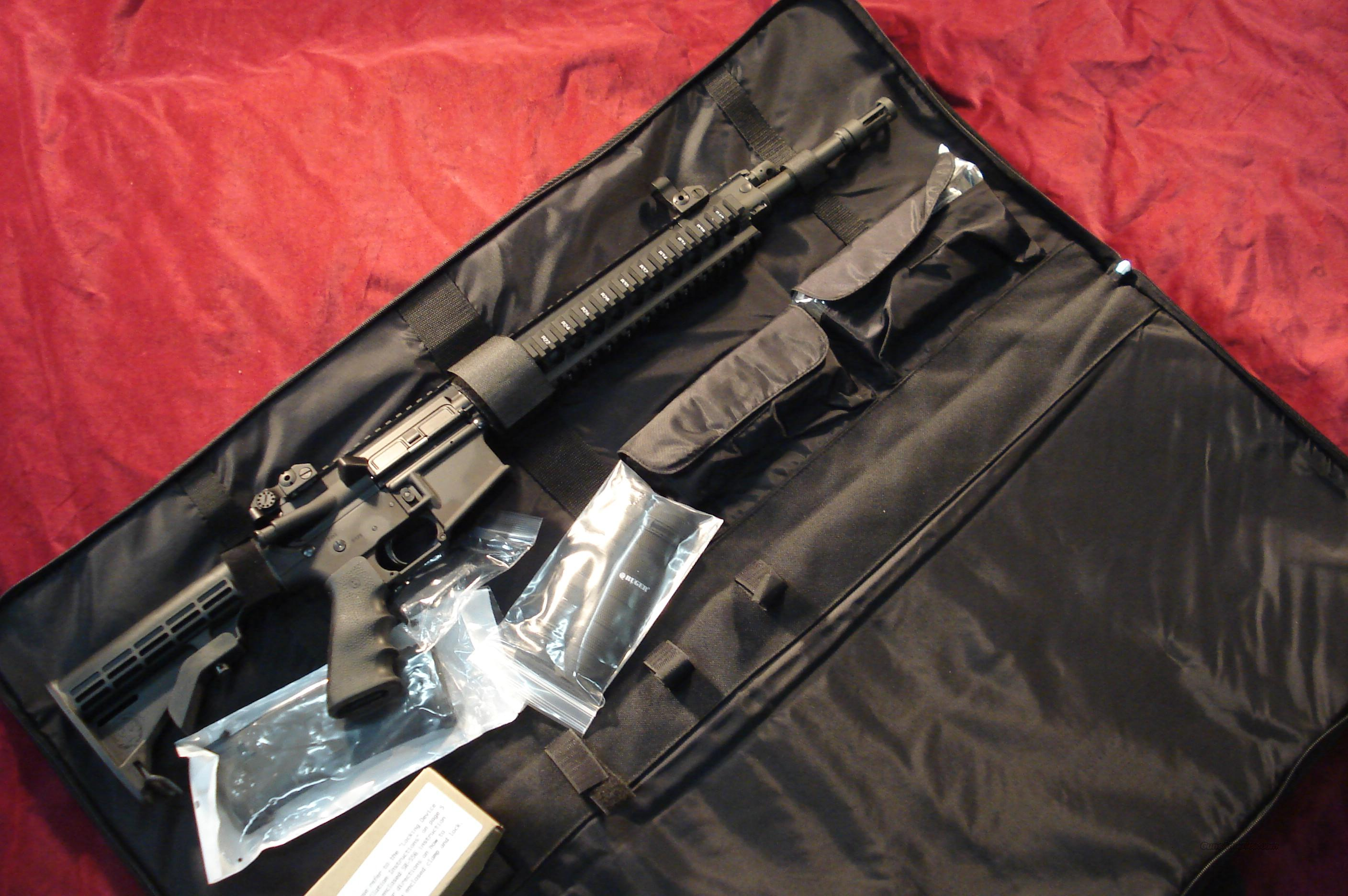 RUGER SR-556 GAS PISTON AR STYLE RIFLE  NEW  Guns > Rifles > Ruger Rifles > Mini-14 Type