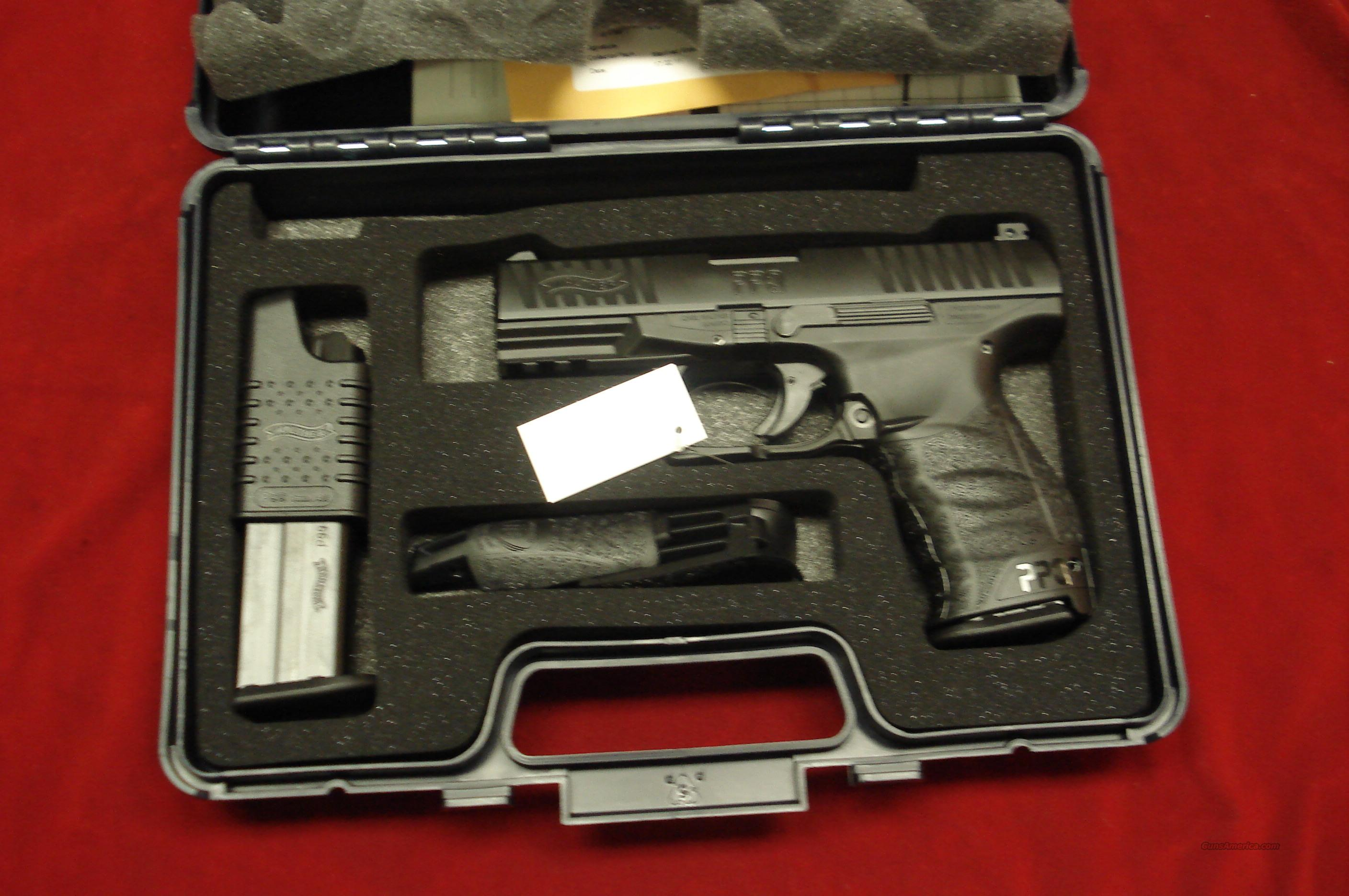 WALTHER PPQ  9MM HIGH CAPACITY NEW  Guns > Pistols > Walther Pistols > Post WWII > PPK Series