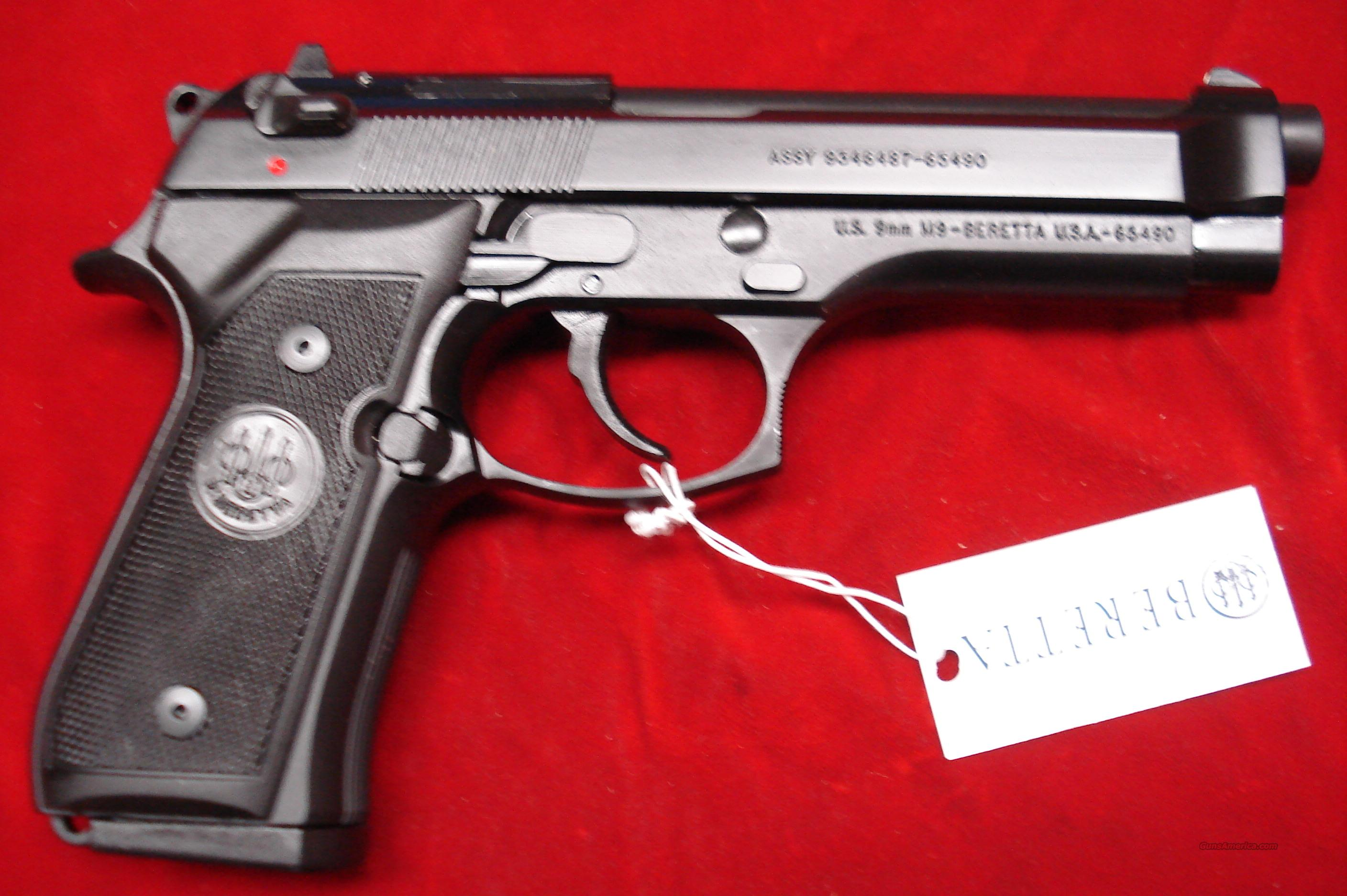 BERETTA M9 COMMERCIAL 9MM NEW  Guns > Pistols > Beretta Pistols > Model 92 Series