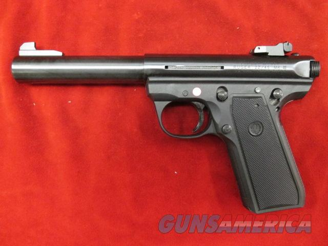 "RUGER 22/45 MKIII 5.5"" BULL NEW (P512MKIII)  Guns > Pistols > Ruger Semi-Auto Pistols > 22/45"