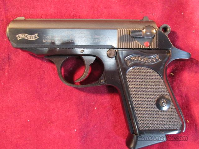 WALTHER PPK BLUED 380 CAL NEW  Guns > Pistols > Walther Pistols > Post WWII > PPK Series