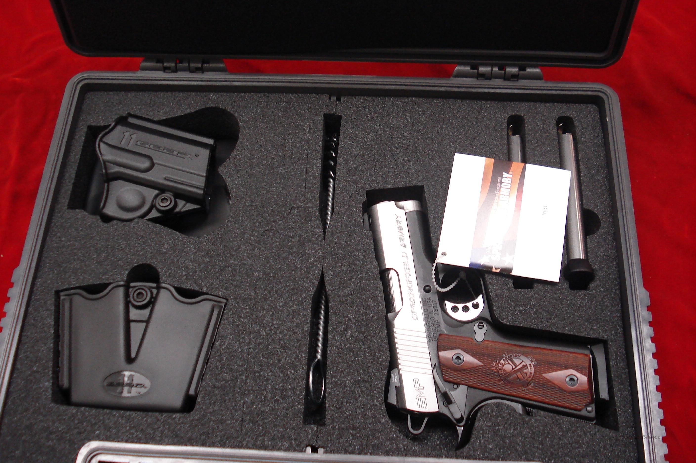 SPRINGFIELD ARMORY EMP MICRO-COMPACT 9MM (PI9209LP) NEW  Guns > Pistols > Springfield Armory Pistols > 1911 Type