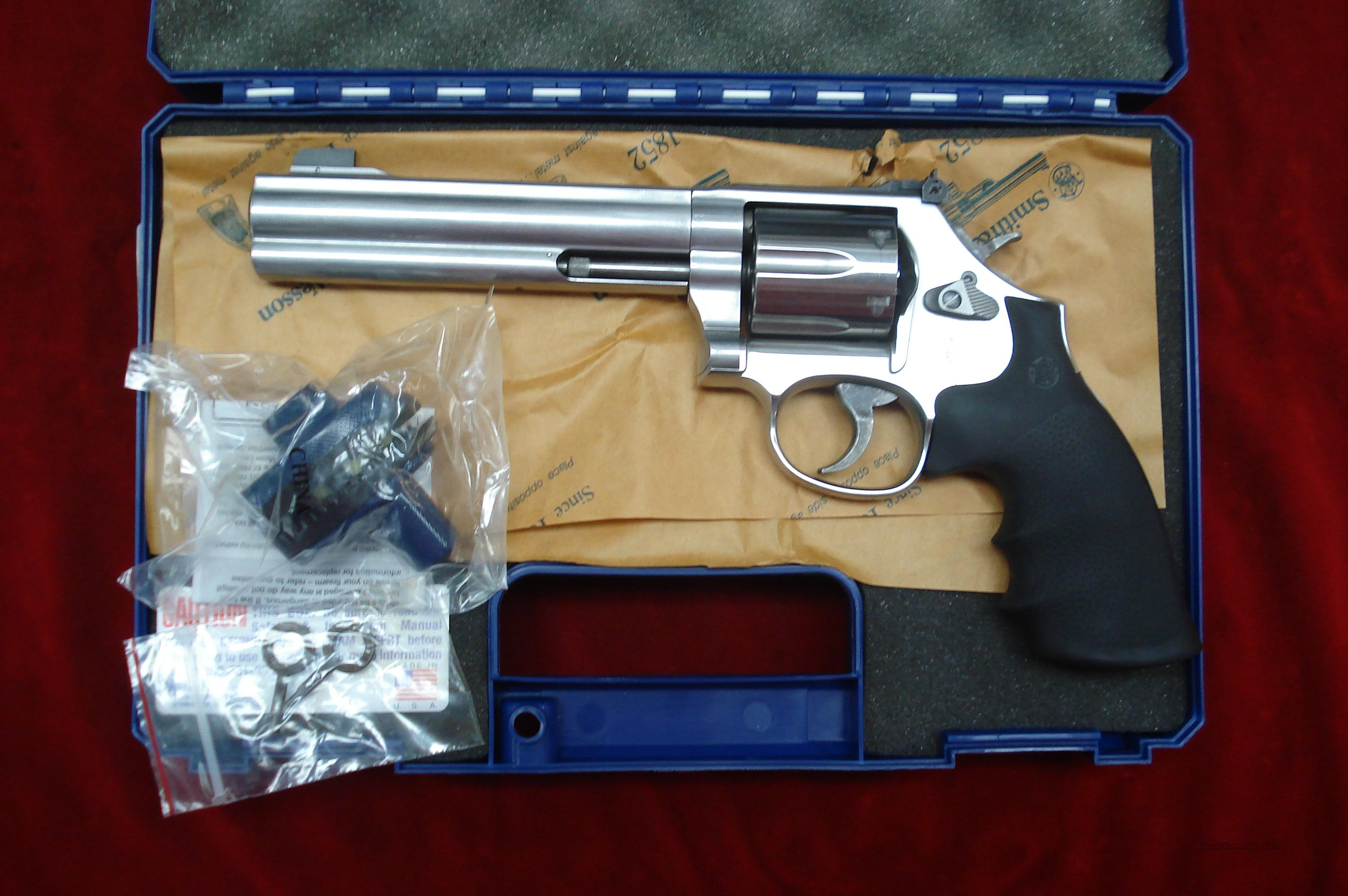 SMITH AND WESSON MODEL 686 STAINLES 357 MAGNUM, PORTED LNIB  Guns > Pistols > Smith & Wesson Revolvers > Full Frame Revolver