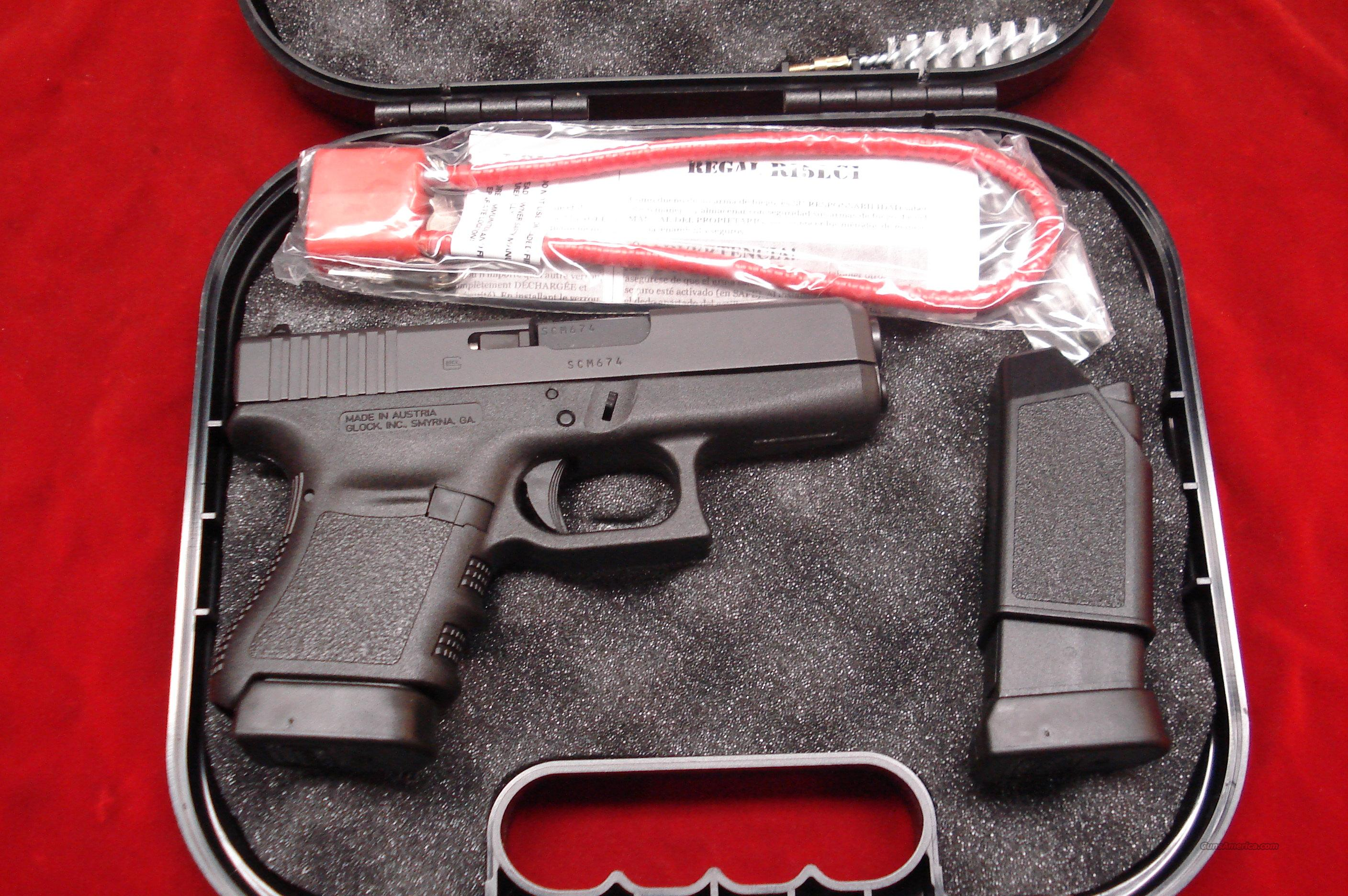 GLOCK MODEL 36 45ACP NEW   Guns > Pistols > Glock Pistols > 29/30/36
