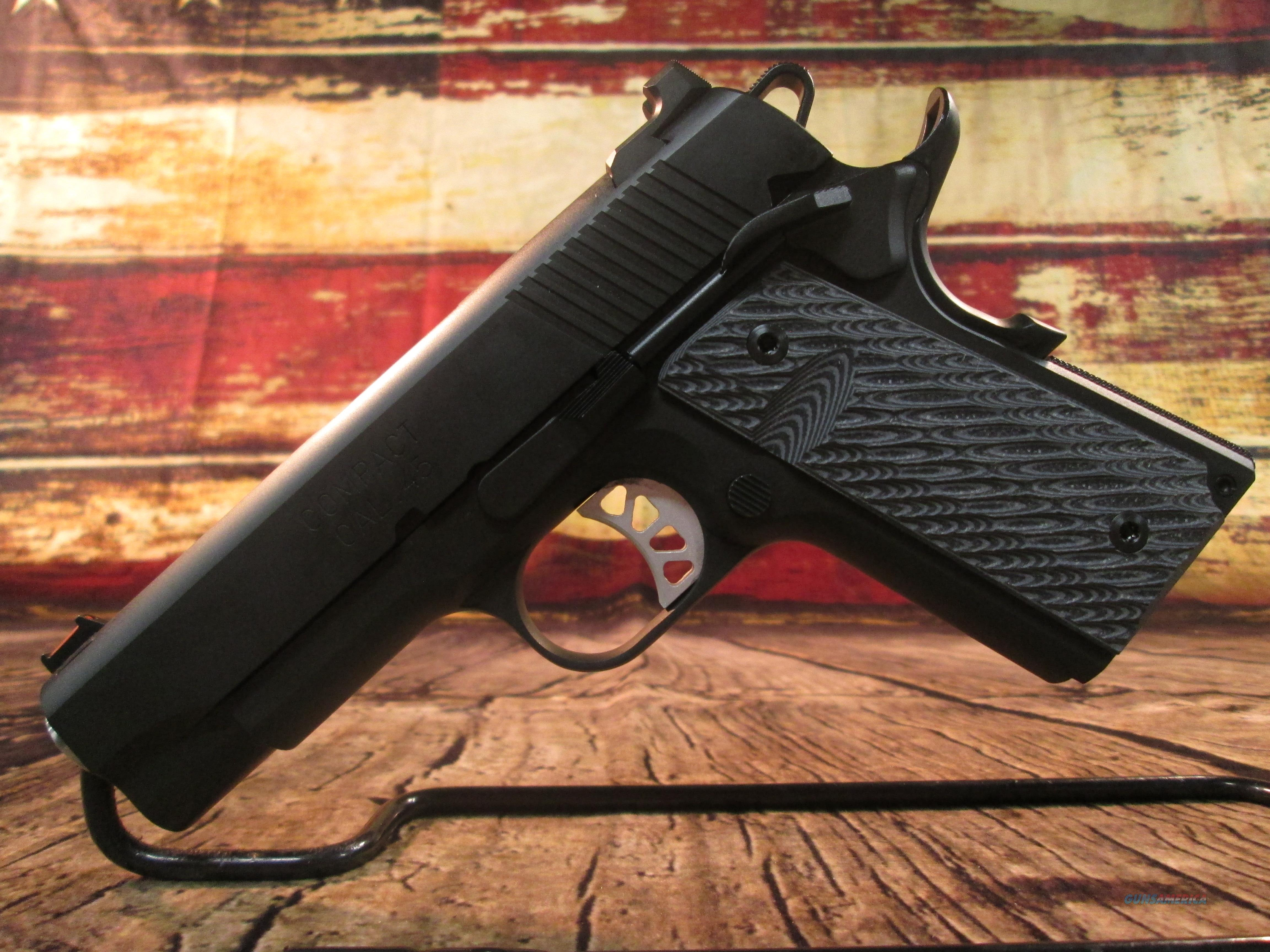 SPRINGFIELD ARMORY RANGE OFFICER ELITE COMPACT .45 ACP (PI9126ER)  Guns > Pistols > Springfield Armory Pistols > 1911 Type