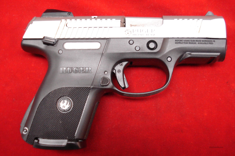 RUGER  SR9C (COMPACT) STAINLESS NEW (IN STOCK)! (KSR9C)  (03313)  Guns > Pistols > Ruger Semi-Auto Pistols > SR Family > SR9C