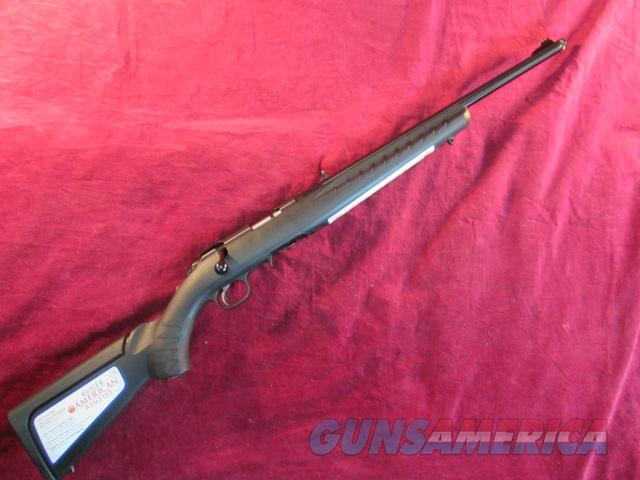 "RUGER AMERICAN COMPACT 18"" THREADED 22LR NEW  Guns > Rifles > Ruger Rifles > American"