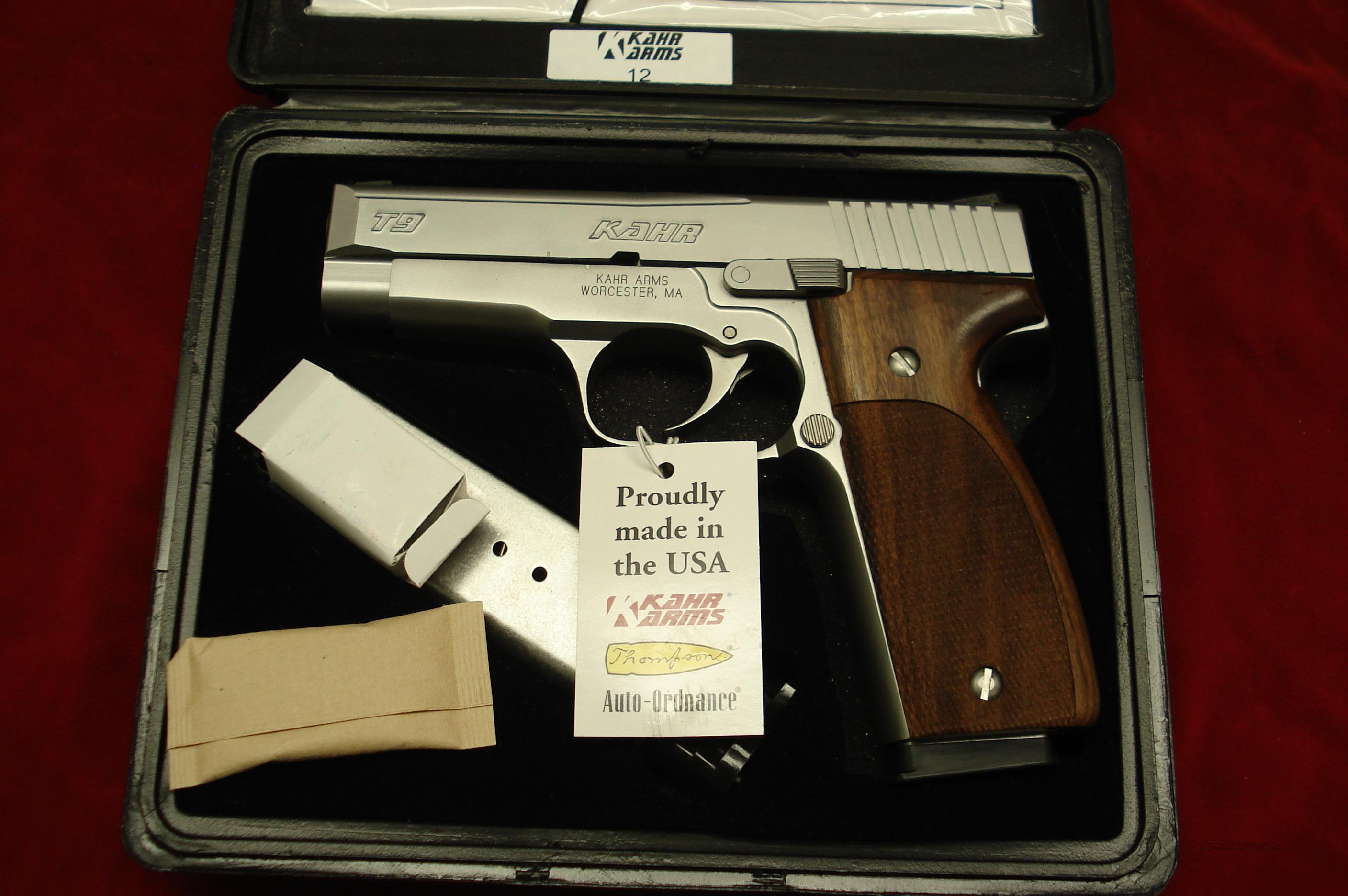 KAHR ARMS STAINLESS TACTICAL 9 WITH NOVAK NIGHT SIGHTS NEW  Guns > Pistols > Kahr Pistols