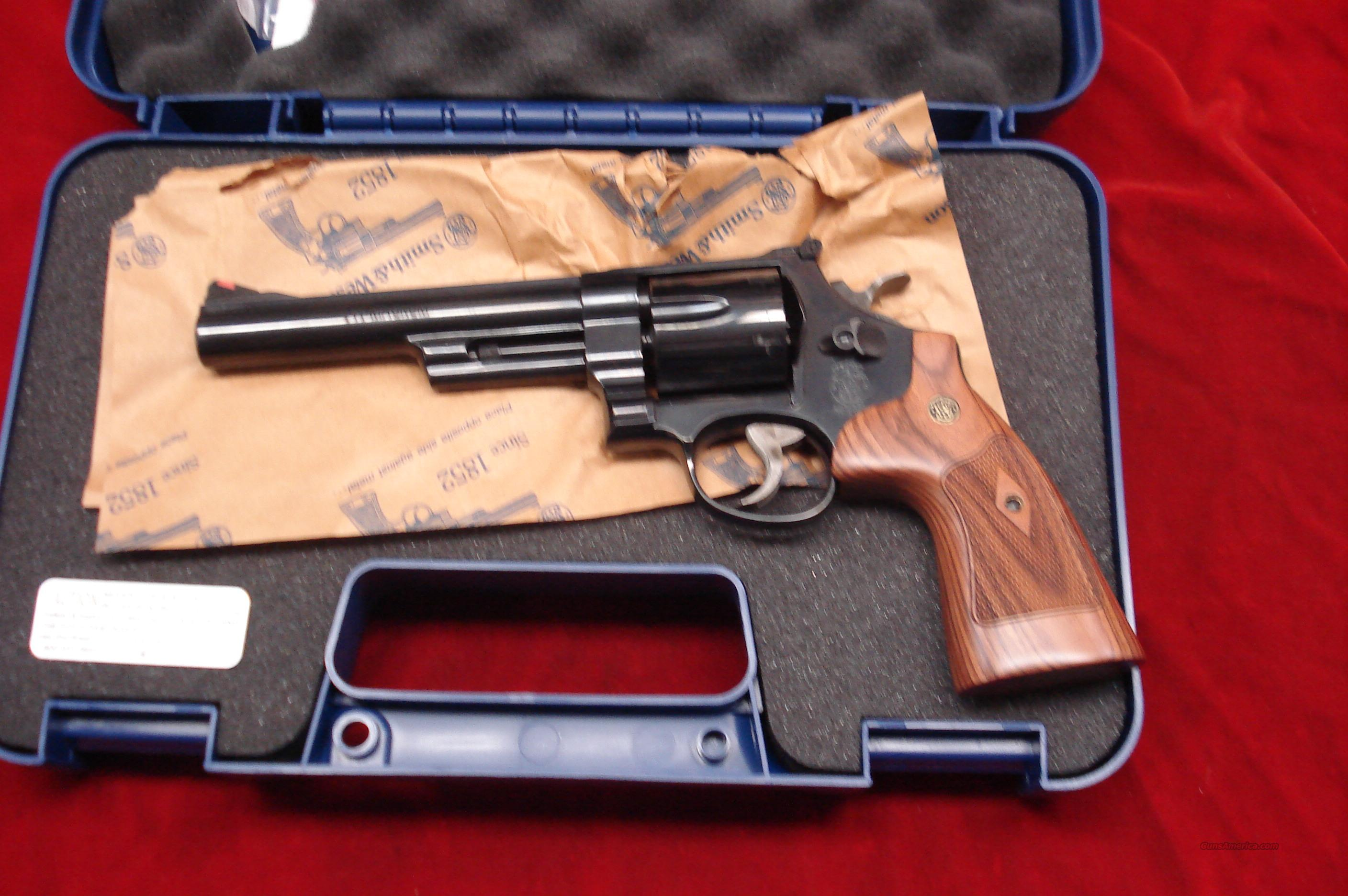 "SMITH AND WESSON 57 CLASSIC 6"" 41MAG. BLUE NEW   Guns > Pistols > Smith & Wesson Revolvers > Full Frame Revolver"