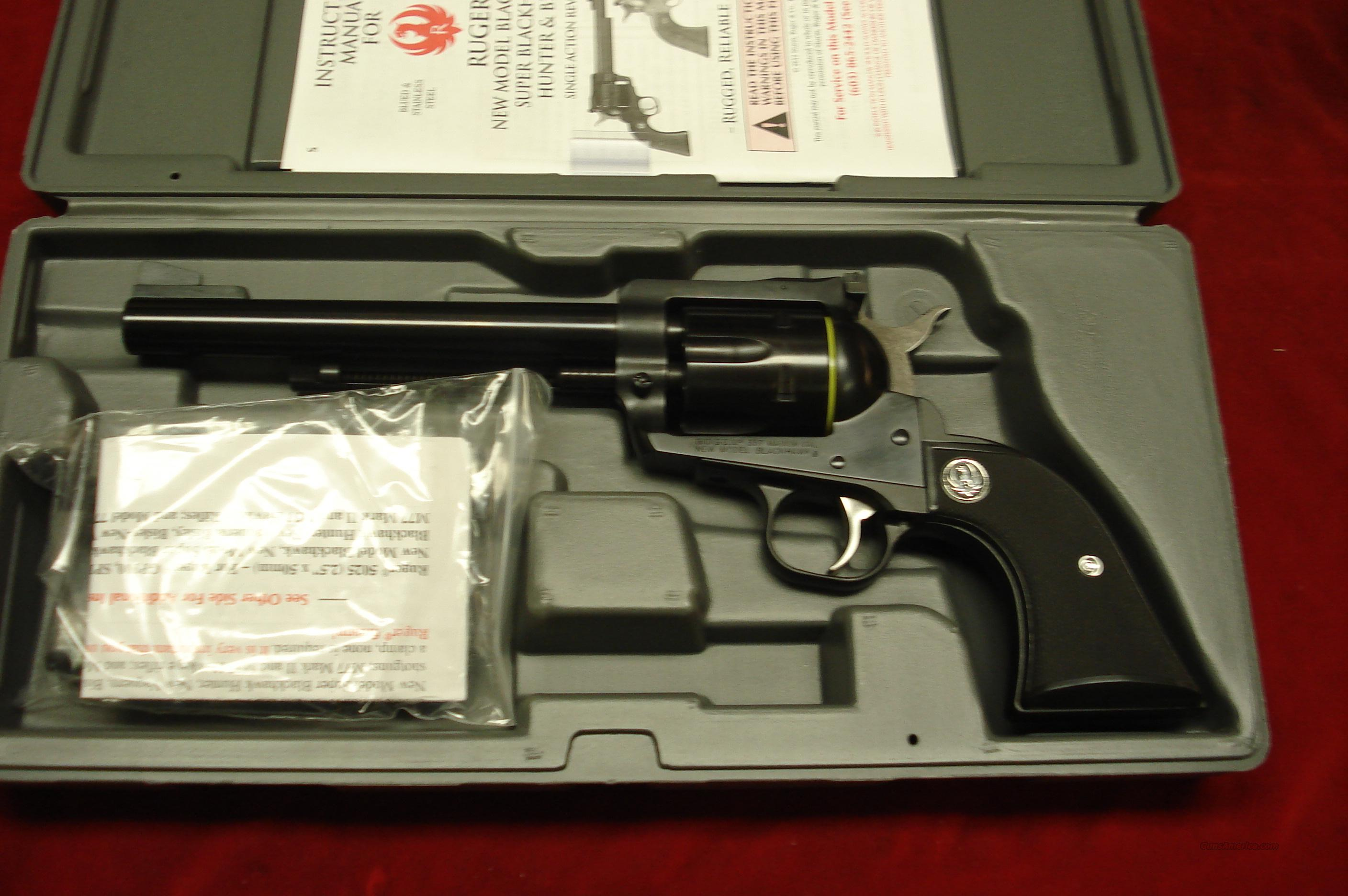"RUGER BLACKHAWK  357MAG 6.5"" BLUE NEW (BN-36)  Guns > Pistols > Ruger Single Action Revolvers > Blackhawk Type"