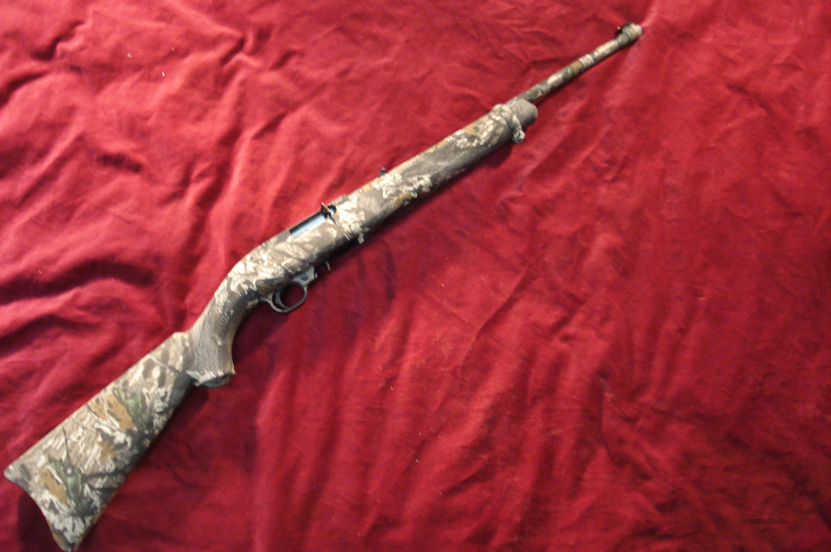 RUGER 10/22 MOSSY OAK BREAK UP NEW  (10/22RPFCA)  Guns > Rifles > Ruger Rifles > 10-22