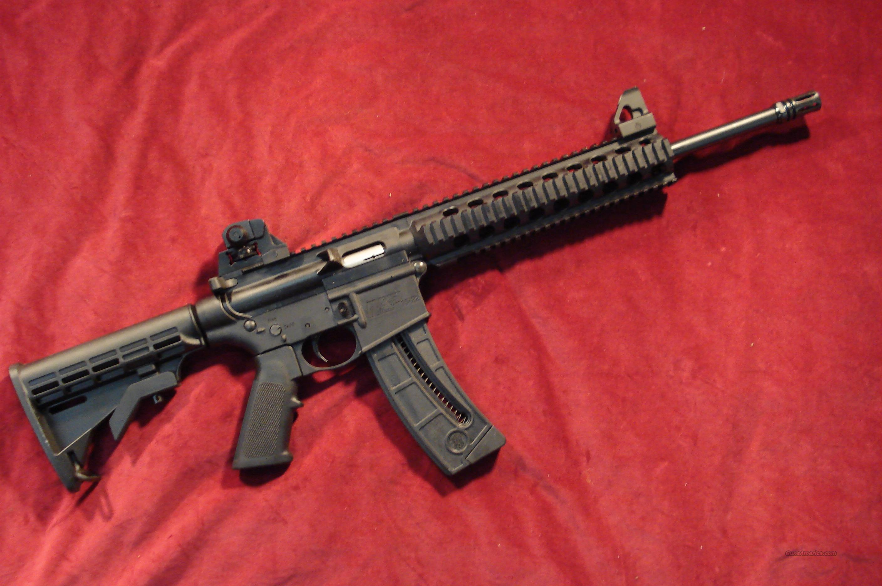 SMITH & WESSON M&P15-22 WITH COMP. NEW   Guns > Rifles > Smith & Wesson Rifles > M&P