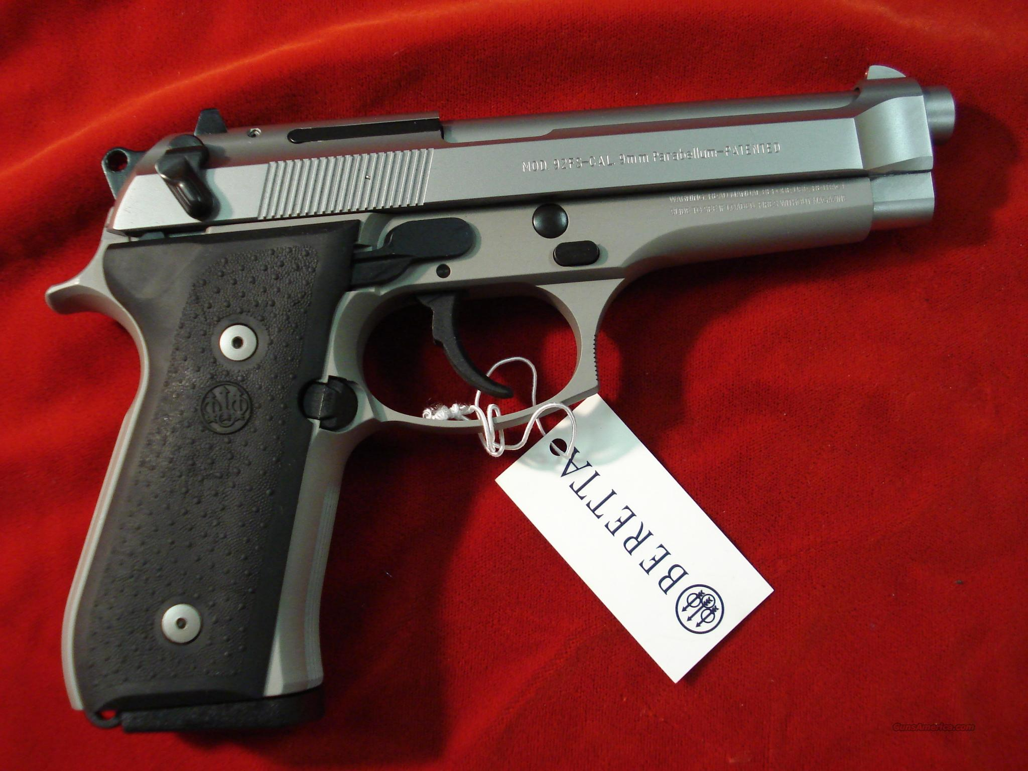 BERETTA 92FS INOX NEW  Guns > Pistols > Beretta Pistols > Model 92 Series