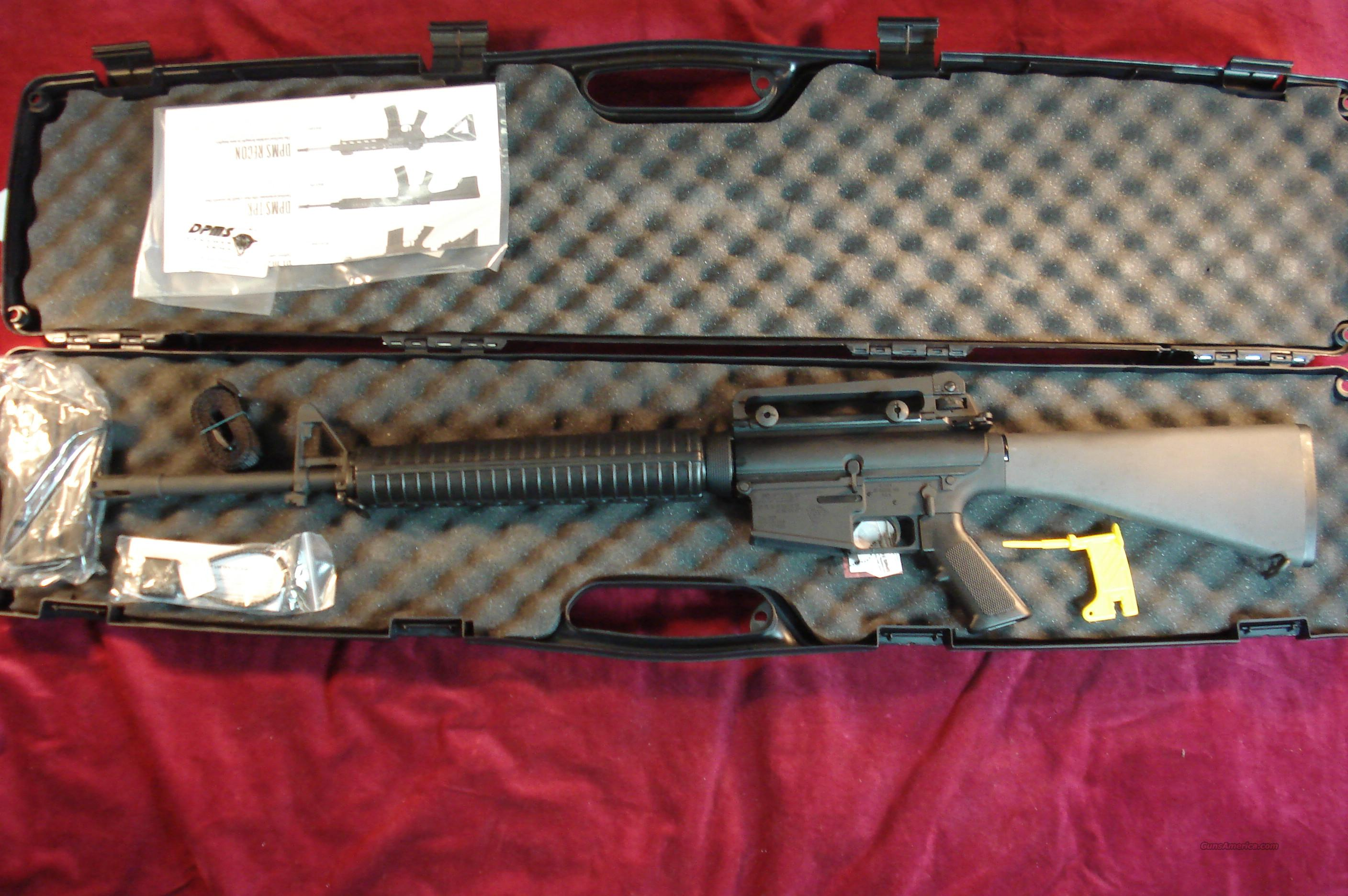 DPMS RFLRC 308 DETACHABLE CARRY HANDLE NEW   Guns > Rifles > DPMS - Panther Arms > Complete Rifle