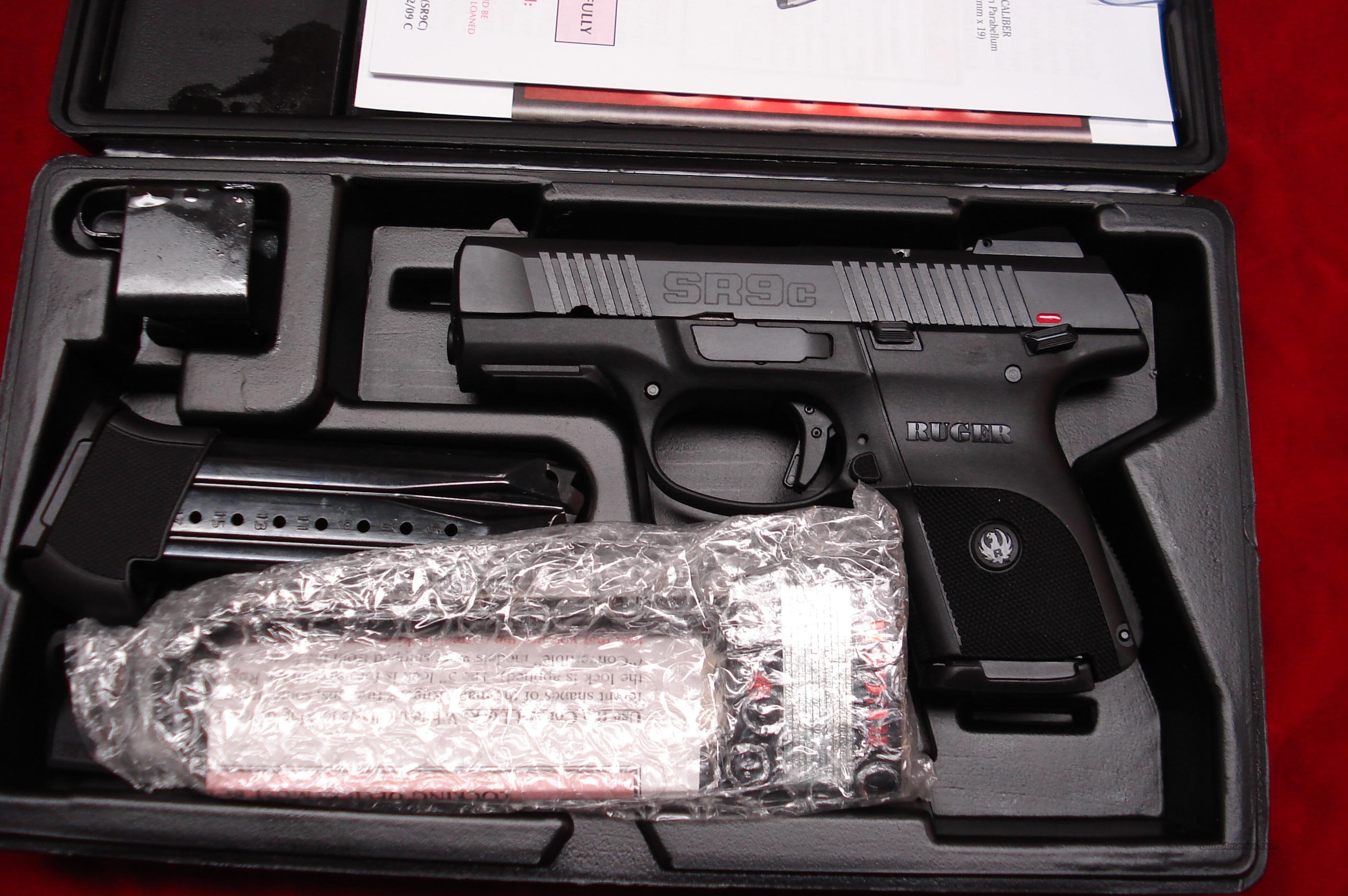 RUGER SR9C (COMPACT) BLACK NEW (IN STOCK)! (BSR9C)  Guns > Pistols > Ruger Semi-Auto Pistols > SR9
