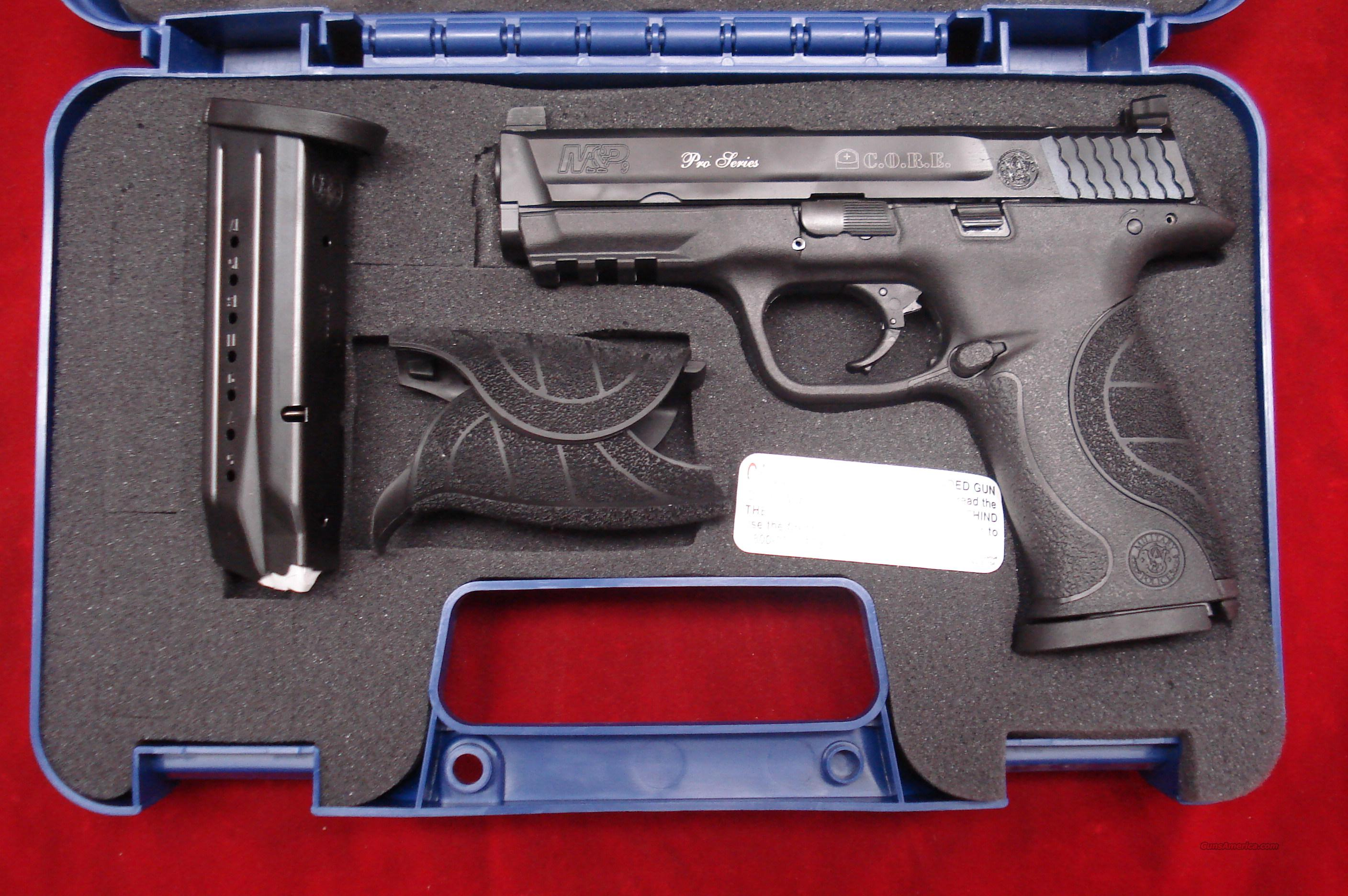SMITH AND WESSON M&P PRO CORE 40 CAL NEW  Guns > Pistols > Smith & Wesson Pistols - Autos > Polymer Frame