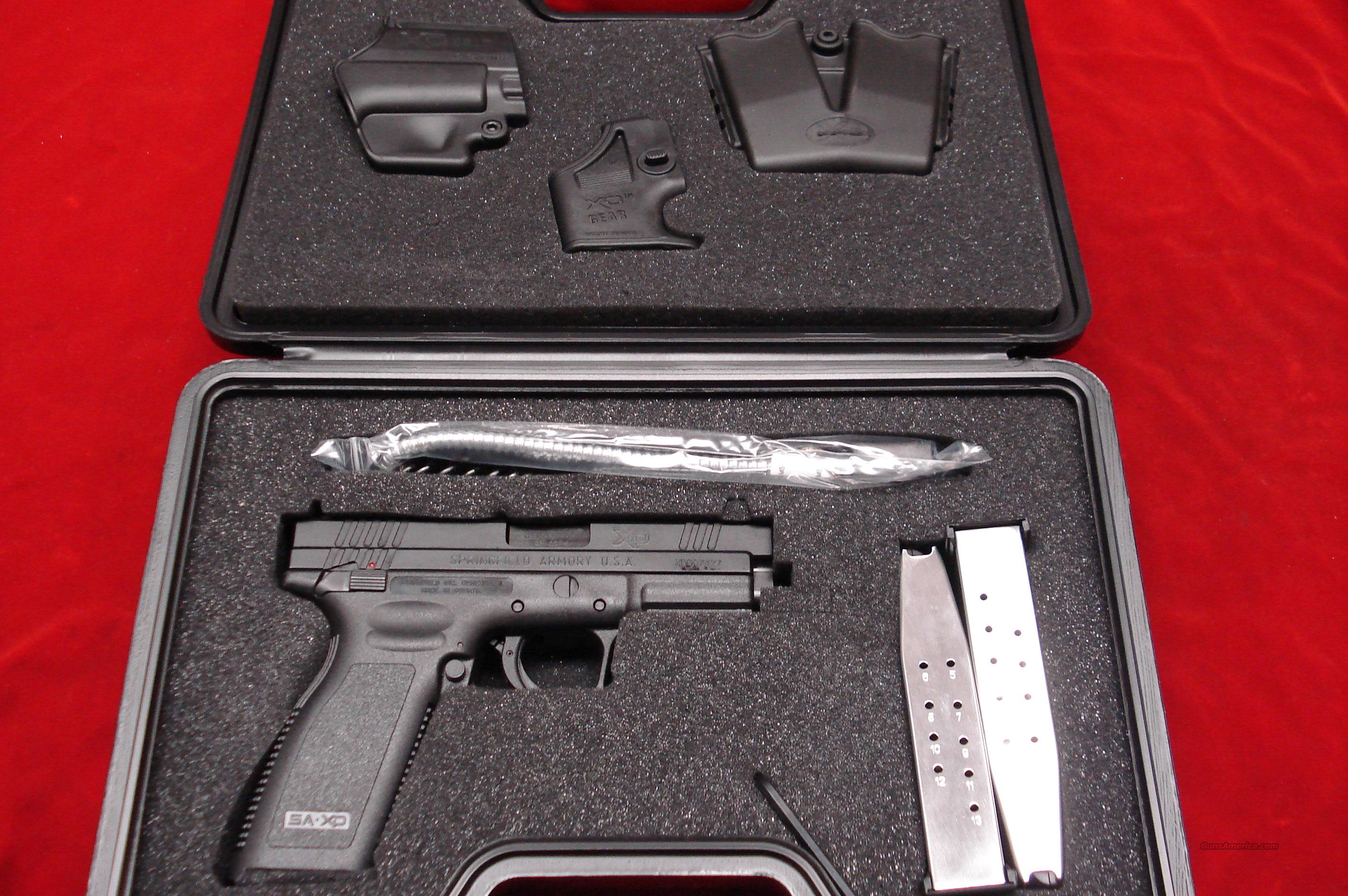 SPRINGFIELD ARMORY XD 45ACP HIGH CAP PACKAGE (THUMB SAFETY) NEW IN THE BOX   Guns > Pistols > Springfield Armory Pistols > XD (eXtreme Duty)