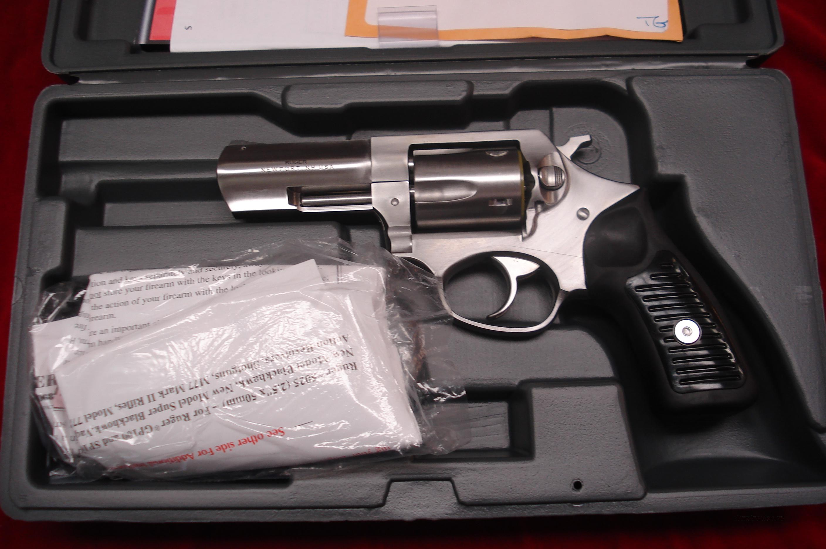 "RUGER SP101 3 1/16"" 357CAL. STAINLESS (KSP-331X) NEW  Guns > Pistols > Ruger Double Action Revolver > SP101 Type"
