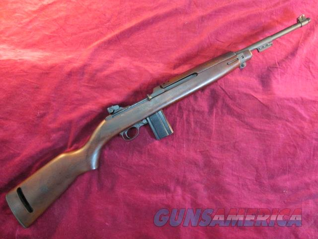 INLAND MANUFACTURING M1 CARBINE 1945 W/ BAYONET LUG AND ADJUSTABLE SIGHT   Guns > Rifles > Military Misc. Rifles US > M1 Carbine
