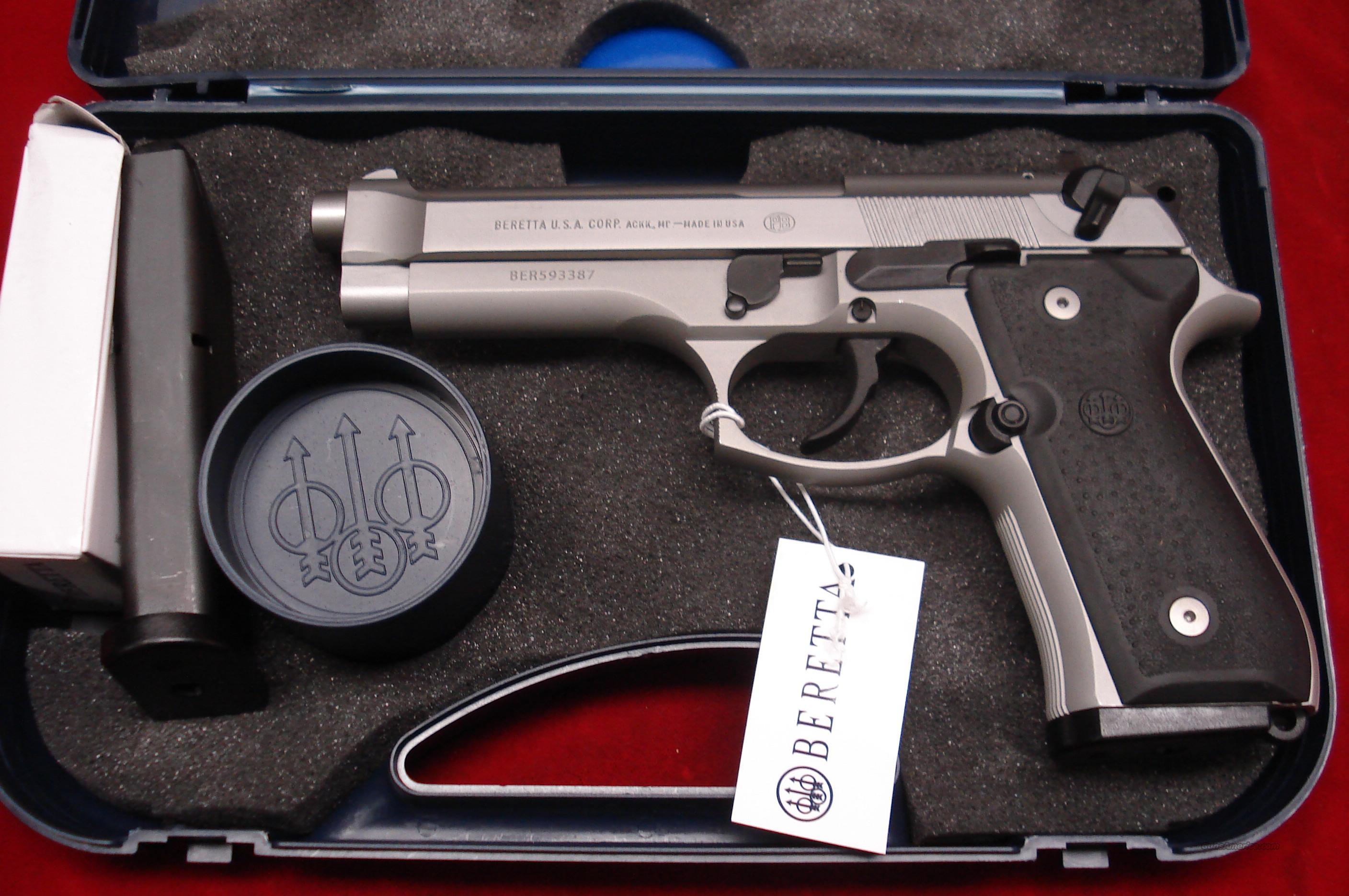 BERETTA  92FS INOX 9MM STAINLESS NEW   Guns > Pistols > Beretta Pistols > Model 92 Series