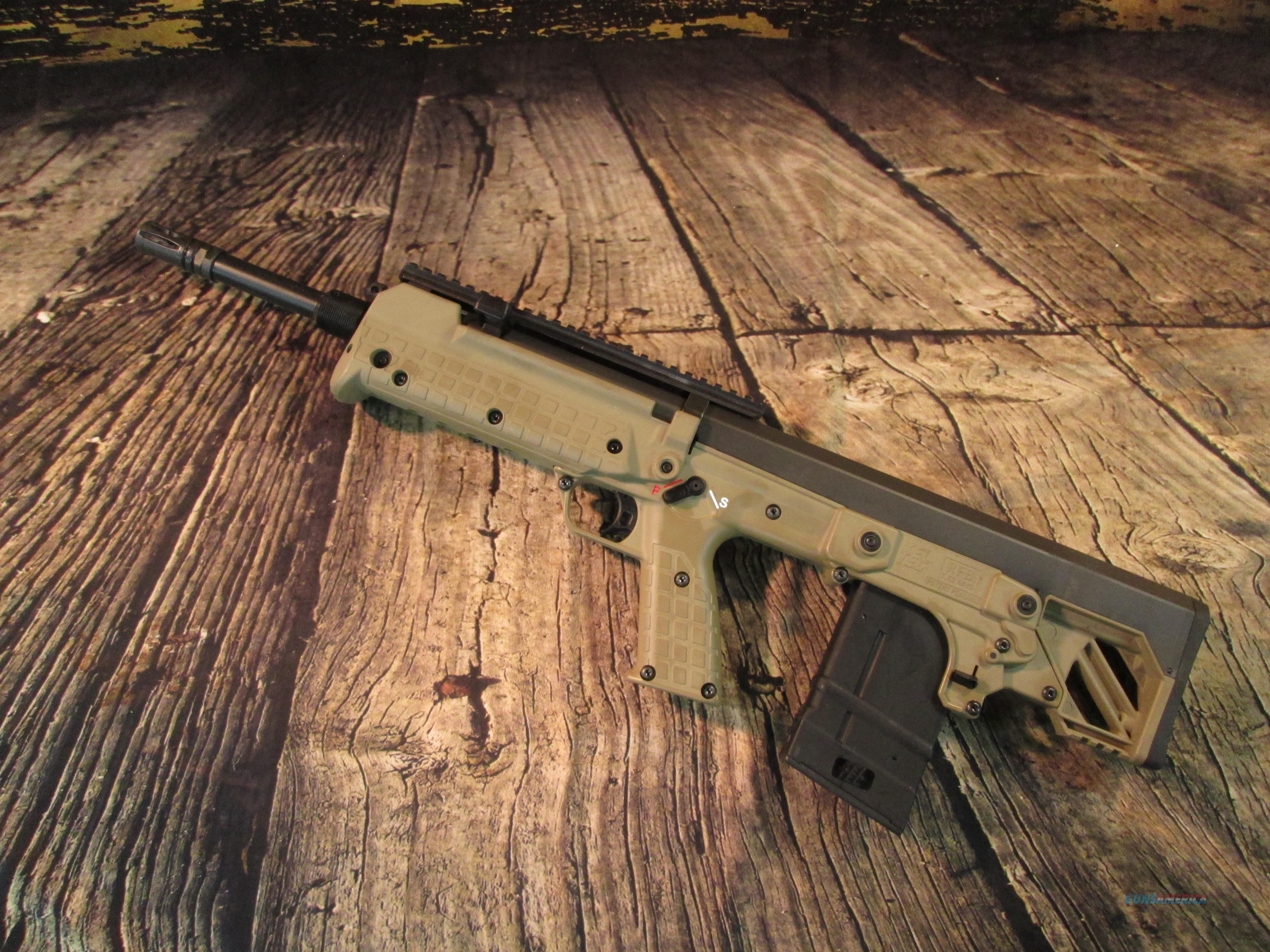 """KEL-TEC RFB 308/ 7.62 NATO CAL BULLPUP 18"""" TAN NEW (RFB18TAN)  Guns > Rifles > Kel-Tec Rifles"""
