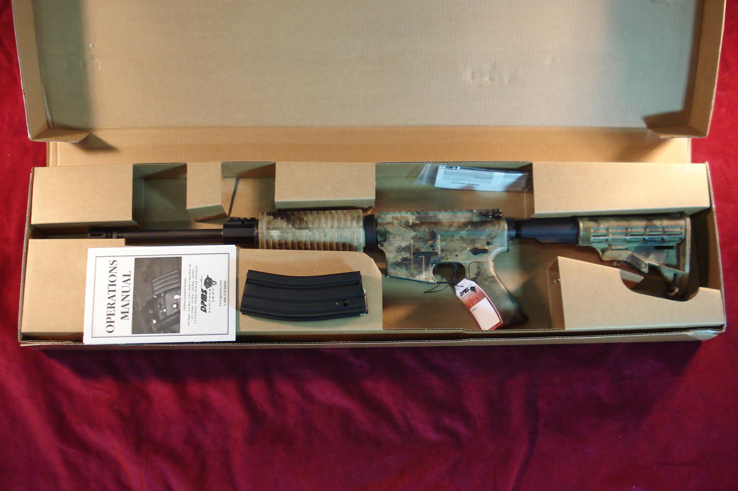 DPMS PANTHER ORACLE CARBINE 223 CAL CAMO FINISH NEW  Guns > Rifles > DPMS - Panther Arms > Complete Rifle