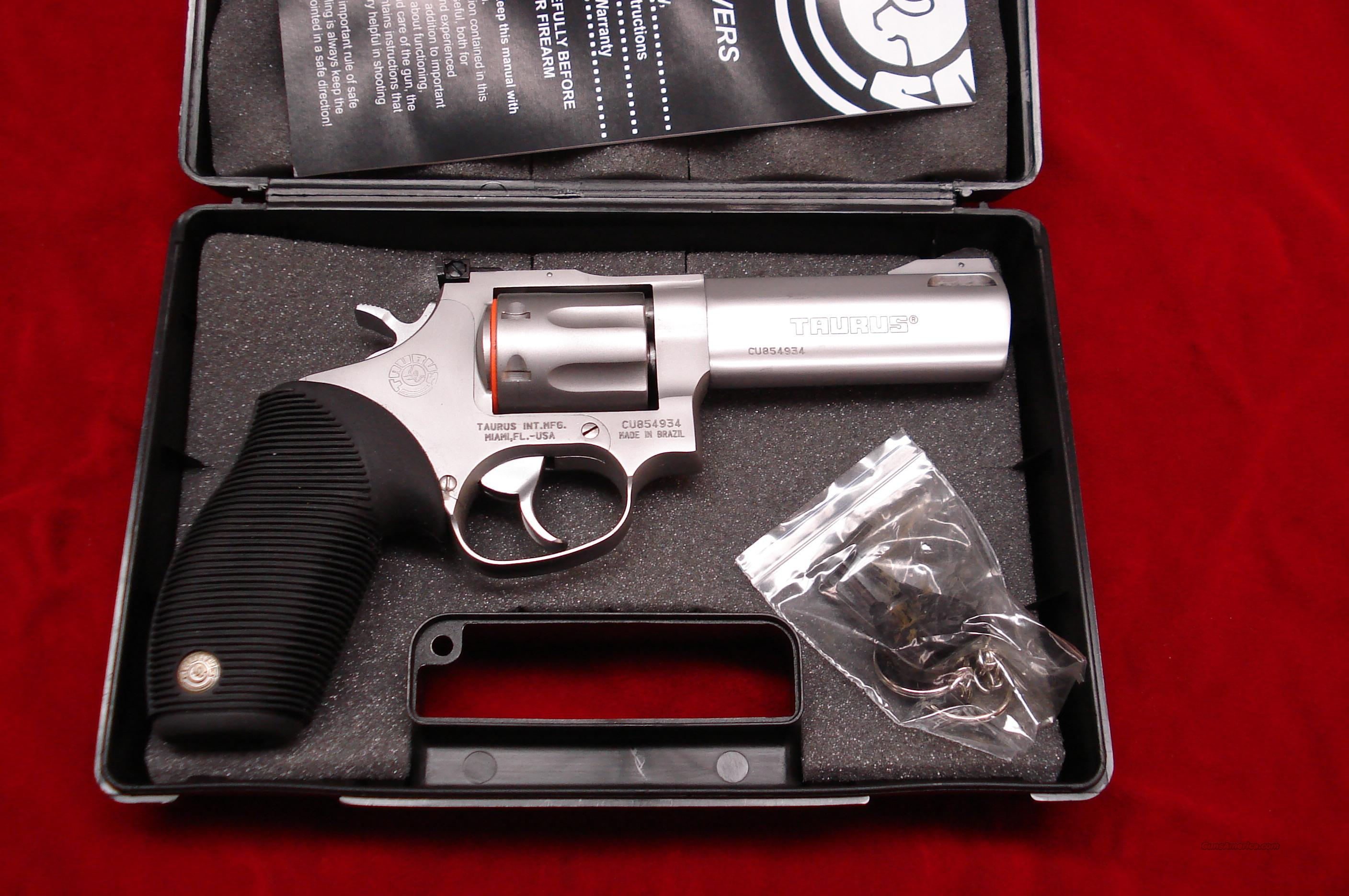 "TAURUS  TRACKER MODEL 627CP 357MAG. STAINLESS PORTED 4"" NEW  Guns > Pistols > Taurus Pistols/Revolvers > Revolvers"